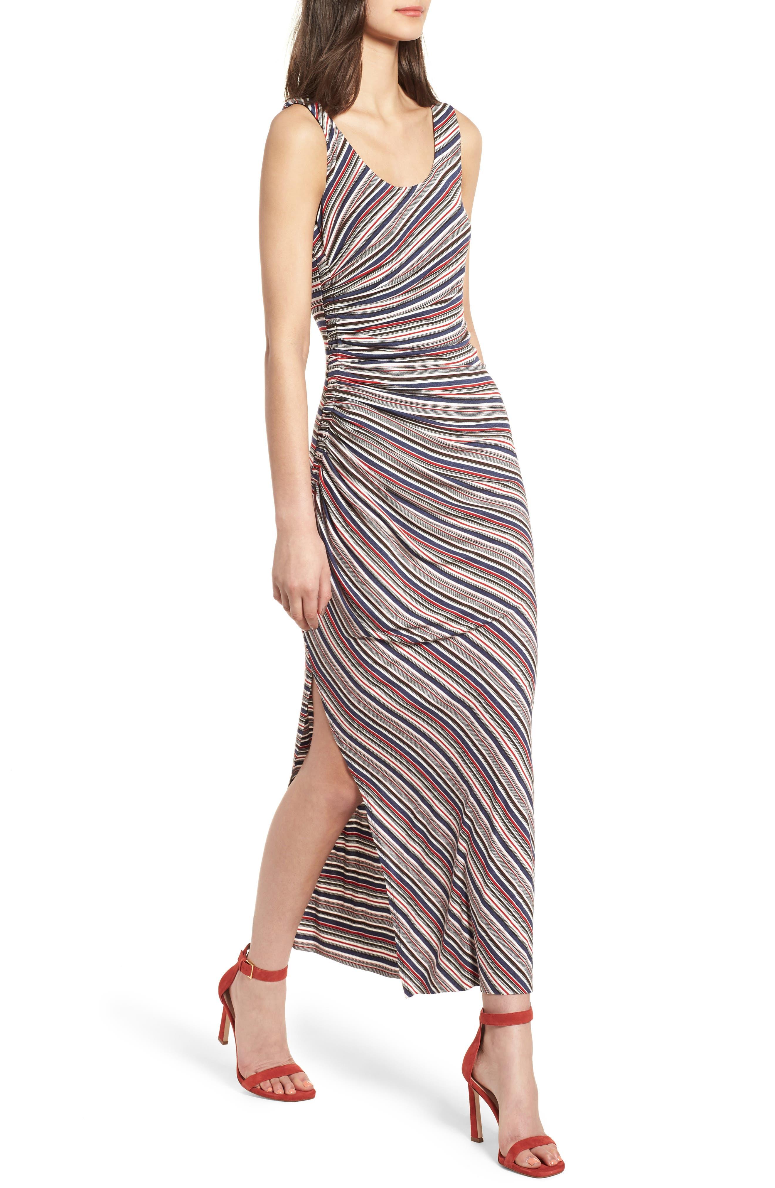 Duststorm Stripe Maxi Tank Dress,                             Main thumbnail 1, color,                             411