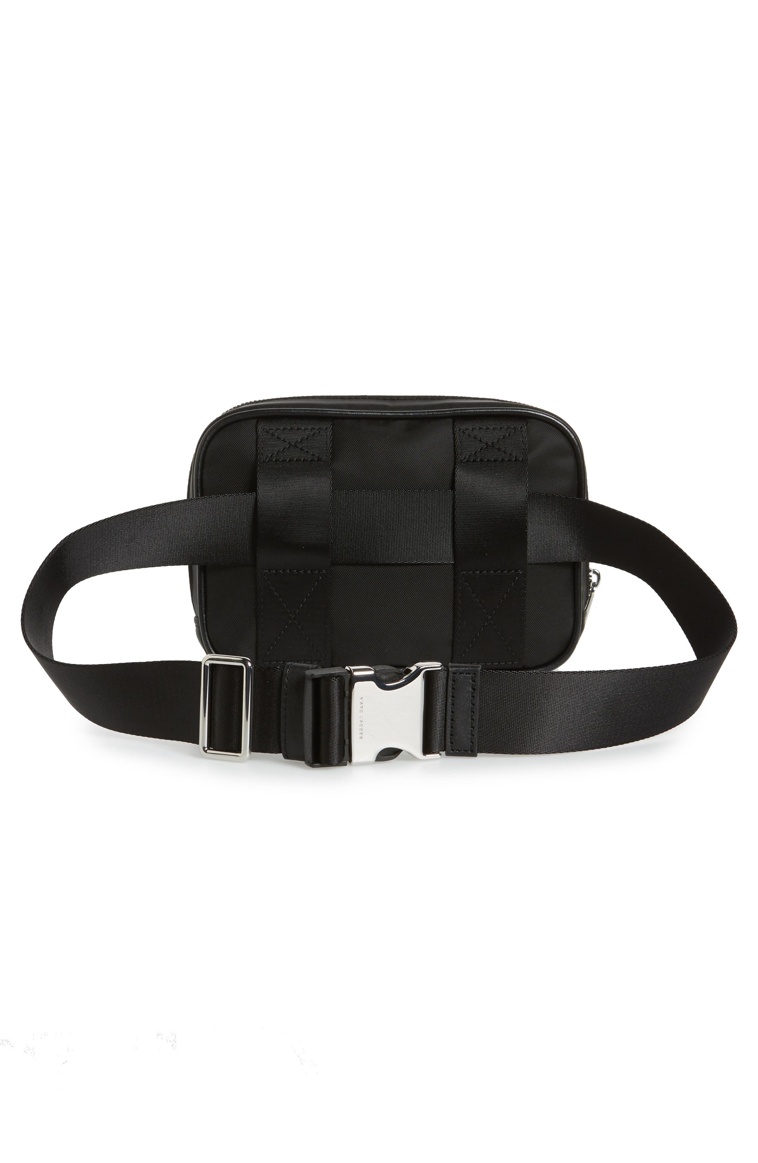Sport Belt Bag,                             Alternate thumbnail 4, color,                             BLACK