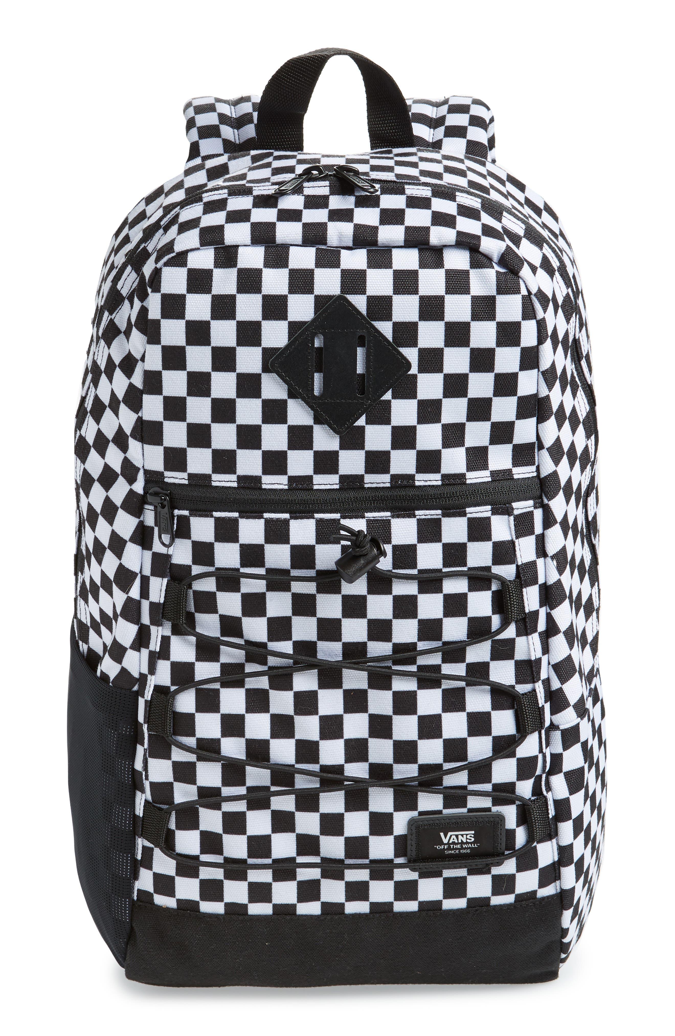 Vans Snag Water Resistant Backpack - Black