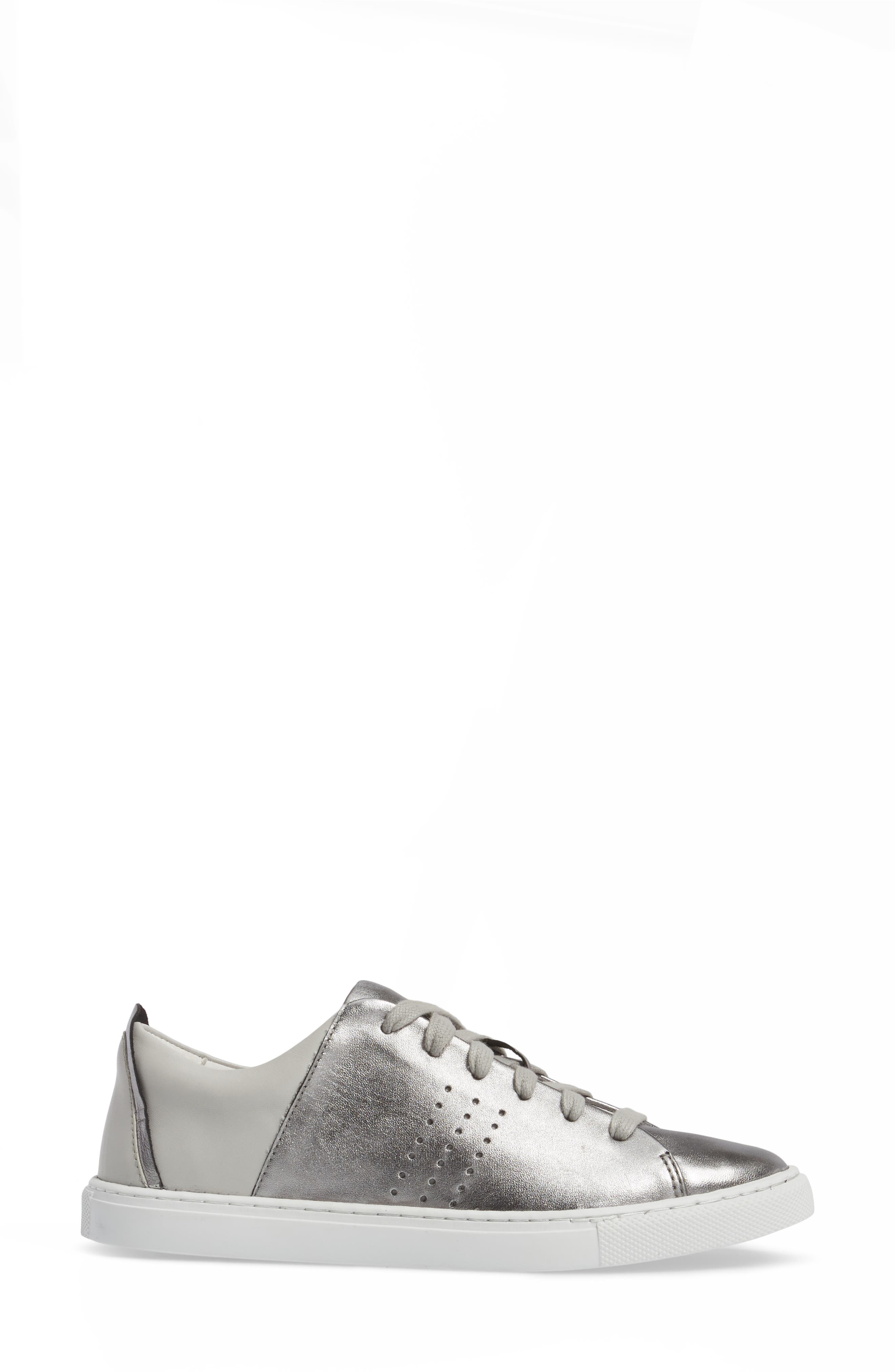 Splits Two-Tone Perforated Sneaker,                             Alternate thumbnail 3, color,                             045