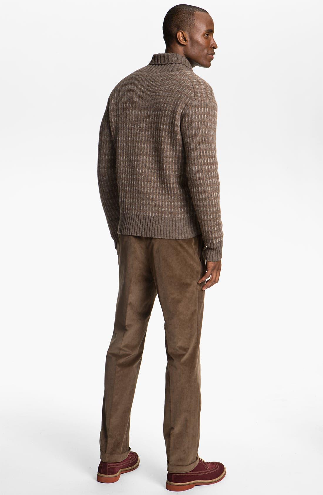 Alpaca & Merino Shawl Collar Sweater,                             Alternate thumbnail 2, color,                             200
