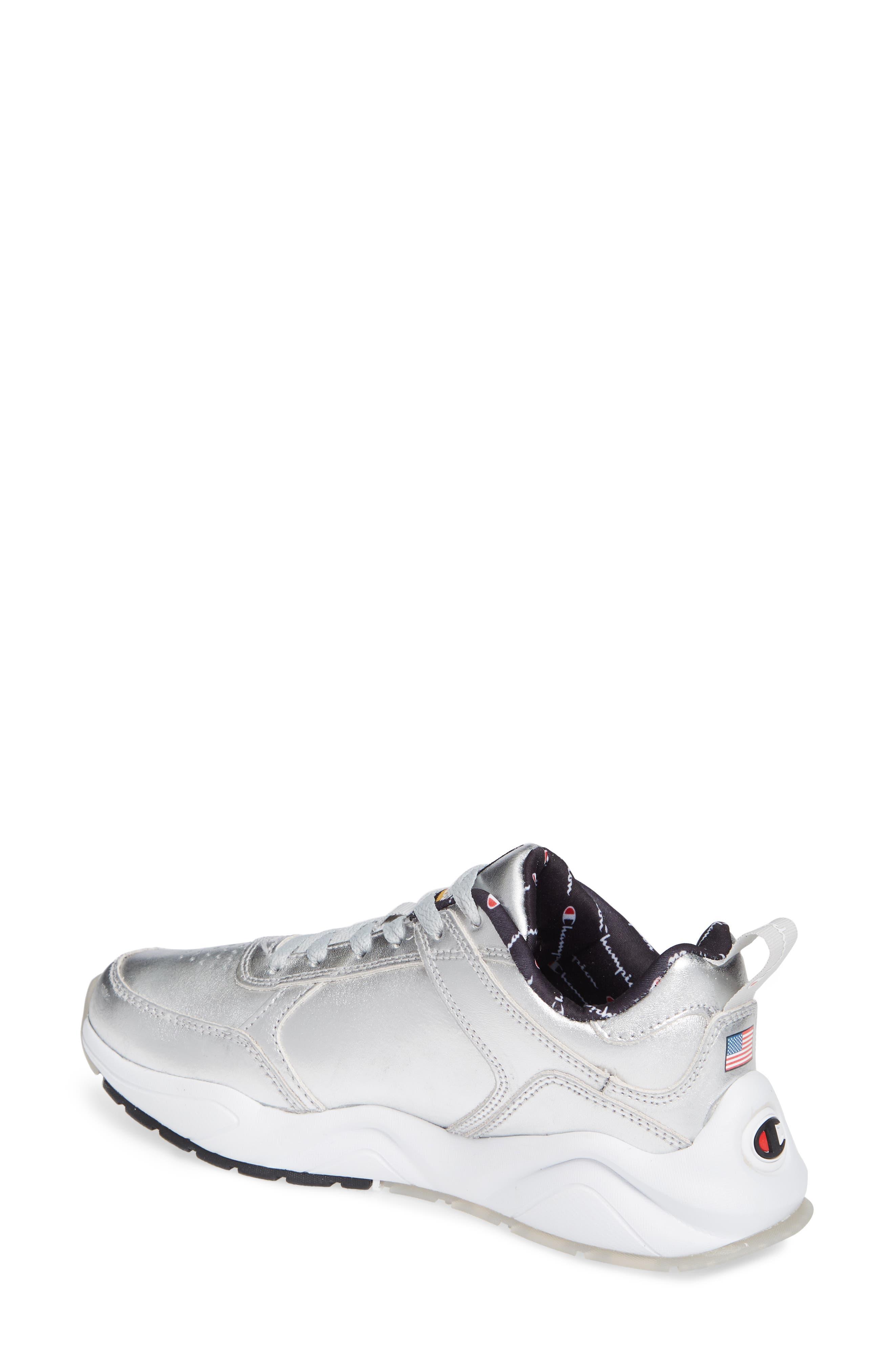 CHAMPION,                             93 Eighteen Metallic Sneaker,                             Alternate thumbnail 2, color,                             040