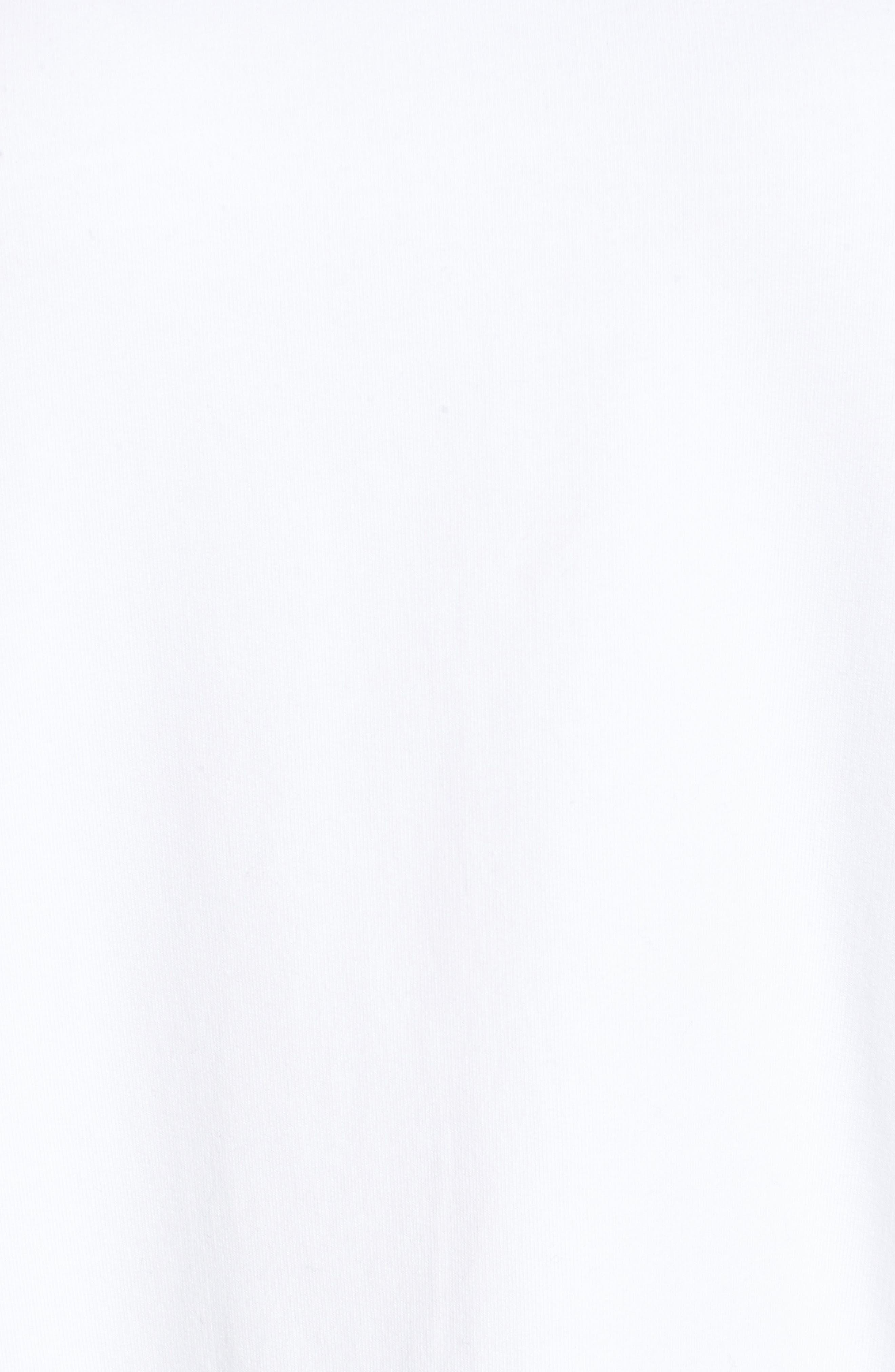 Poplin Ruffle Sleeve Sweatshirt,                             Alternate thumbnail 14, color,