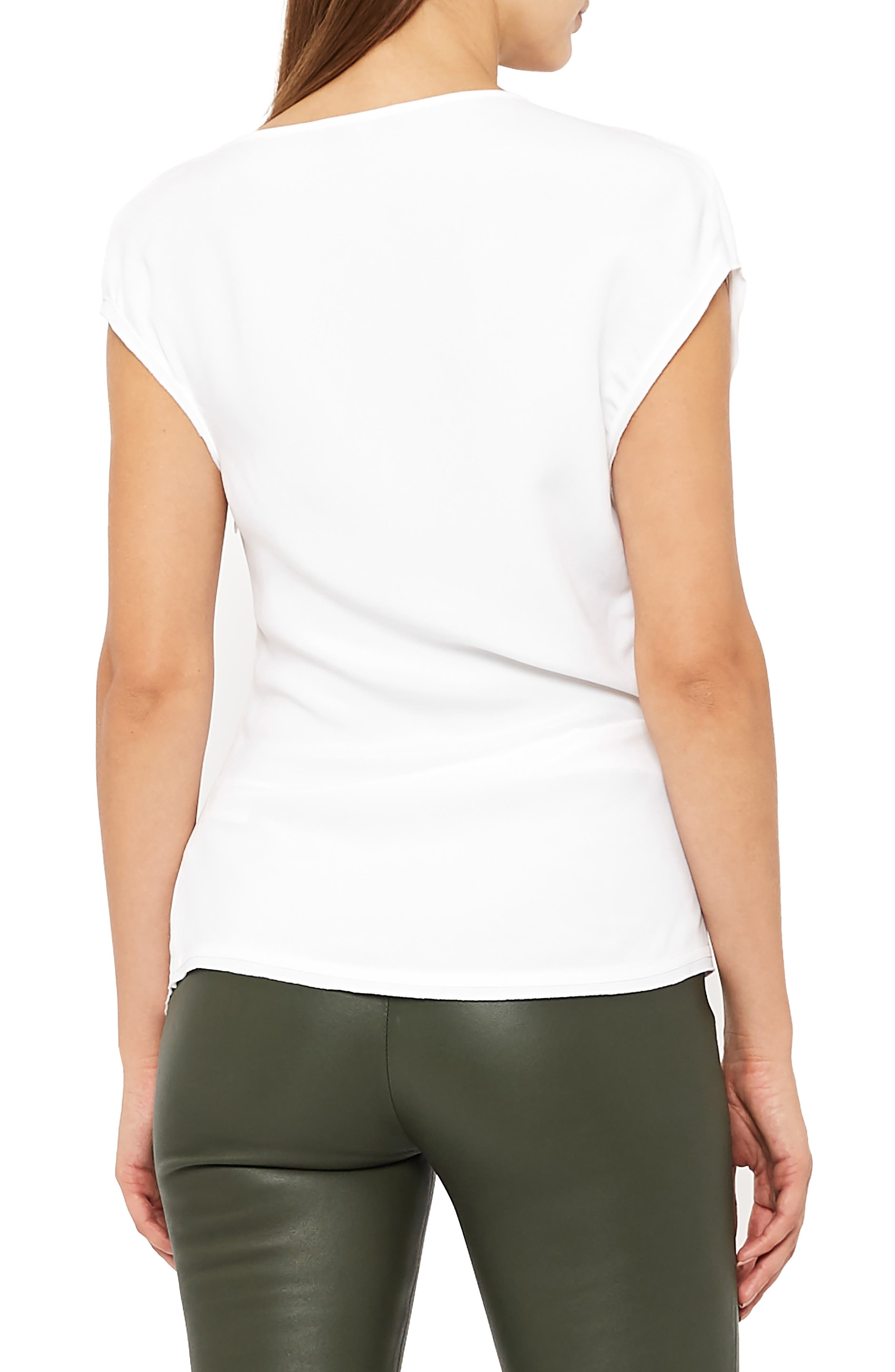 Miren Batwing Sleeve Top,                             Alternate thumbnail 2, color,                             OFF WHITE