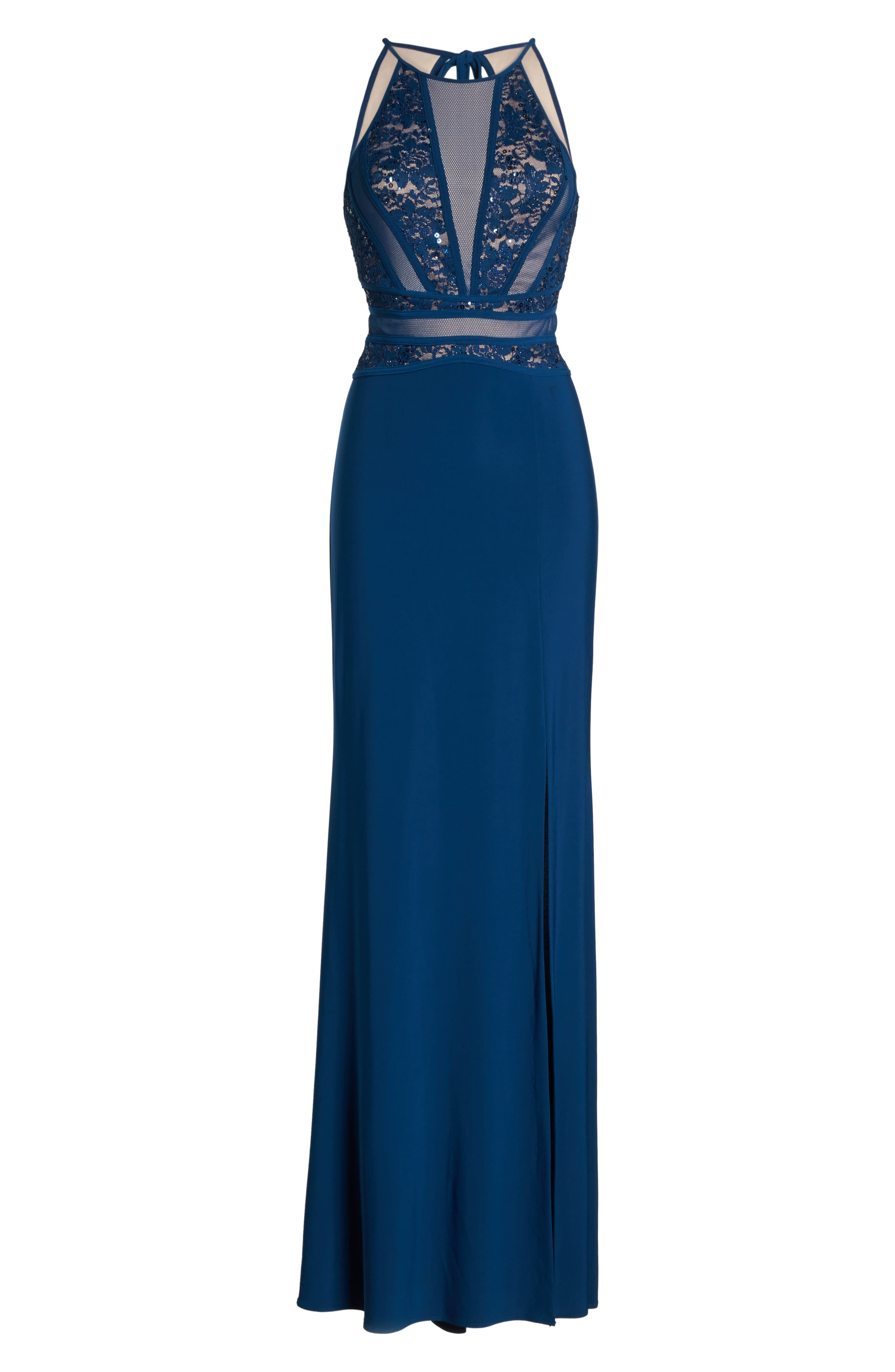 Embellished Gown,                             Alternate thumbnail 6, color,                             499