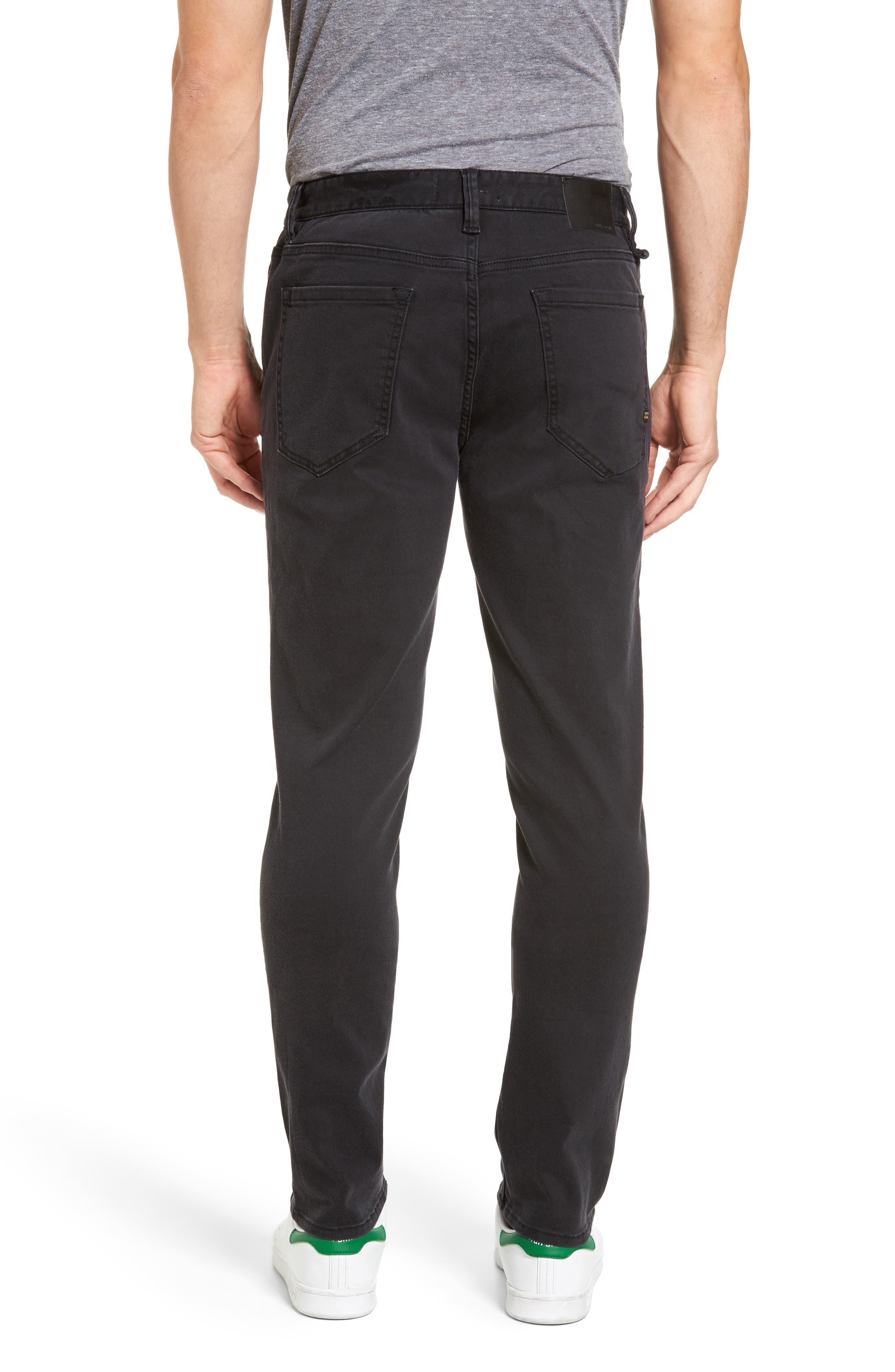 Outside Slim Straight Leg Jeans,                             Alternate thumbnail 2, color,                             011