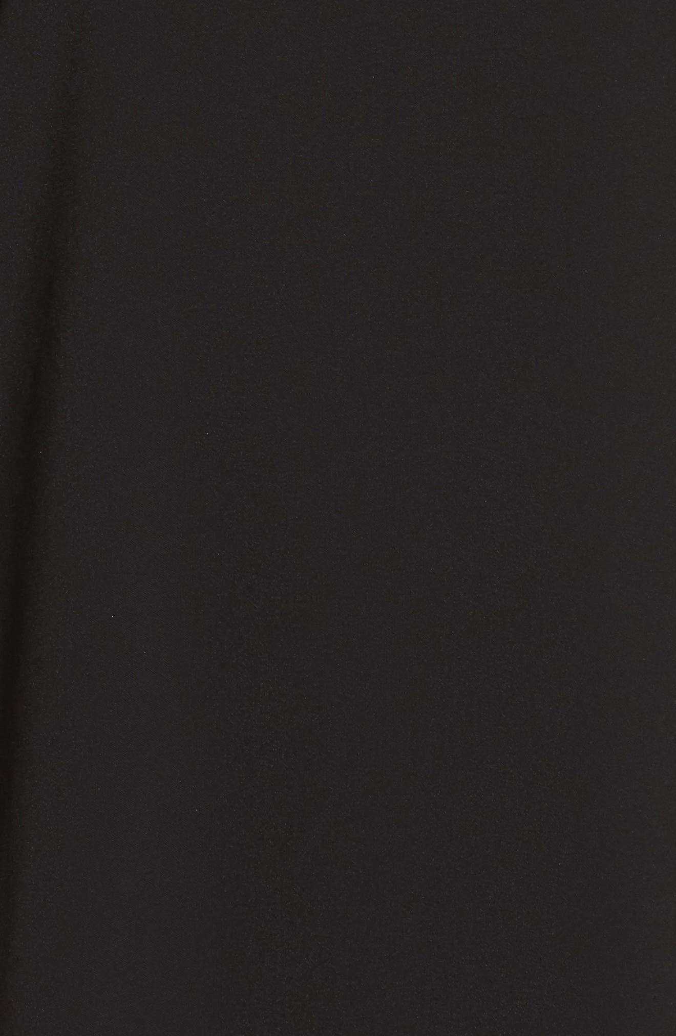 Bell Sleeve Shift Dress,                             Alternate thumbnail 5, color,