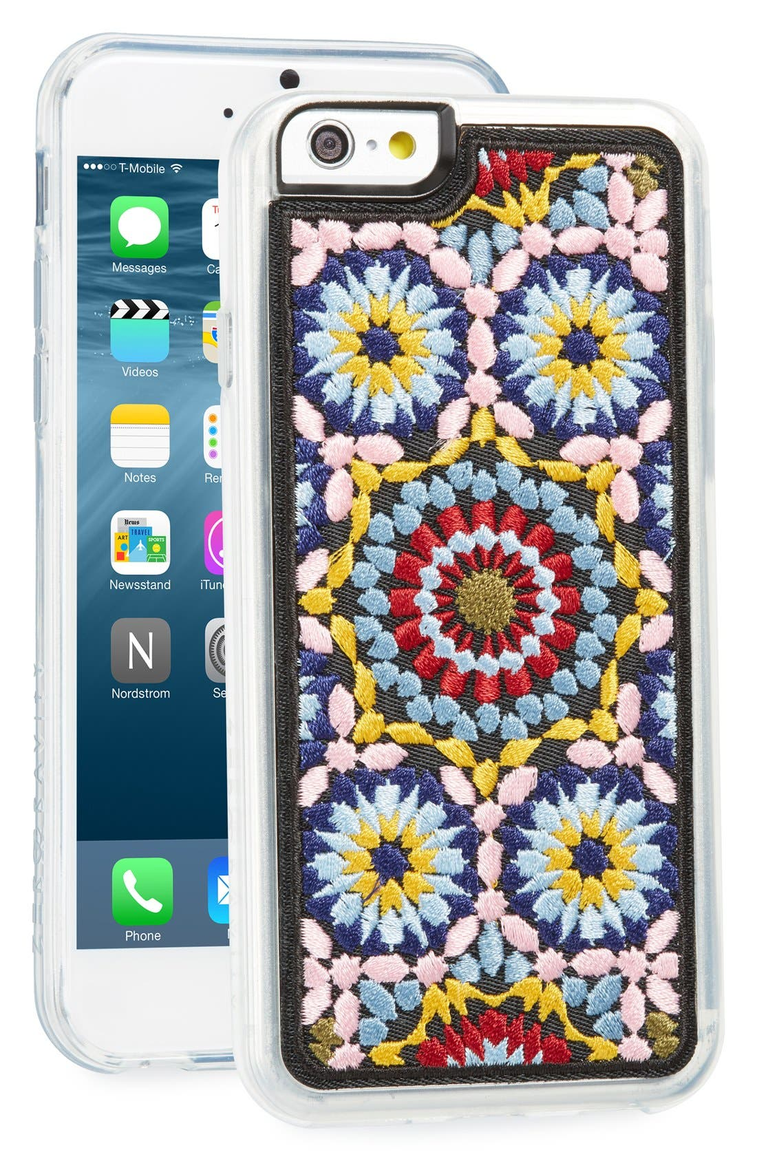 Casbah Embroidered iPhone 6/6s Case,                             Main thumbnail 1, color,                             400
