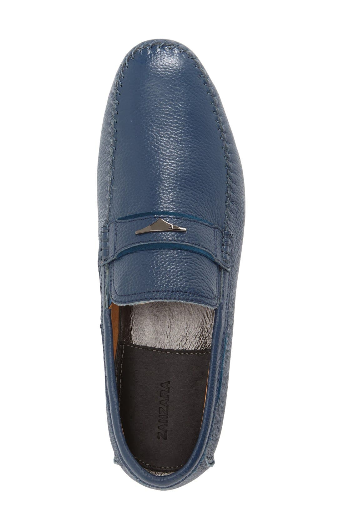 Leather Loafer,                             Alternate thumbnail 2, color,                             400
