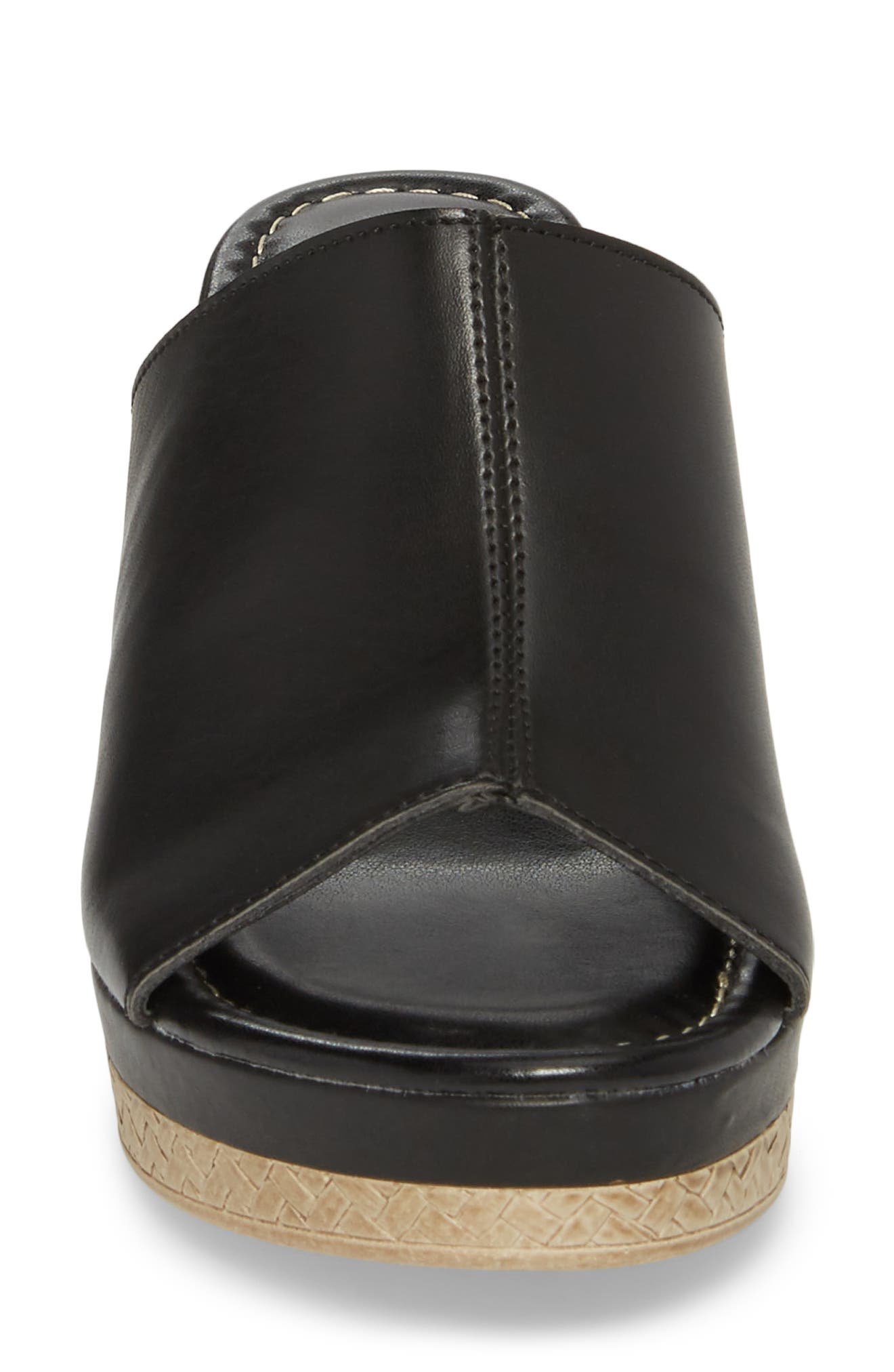 TUSCANY BY EASY STREET<SUP>®</SUP>,                             Octavia Espadrille Wedge,                             Alternate thumbnail 4, color,                             001
