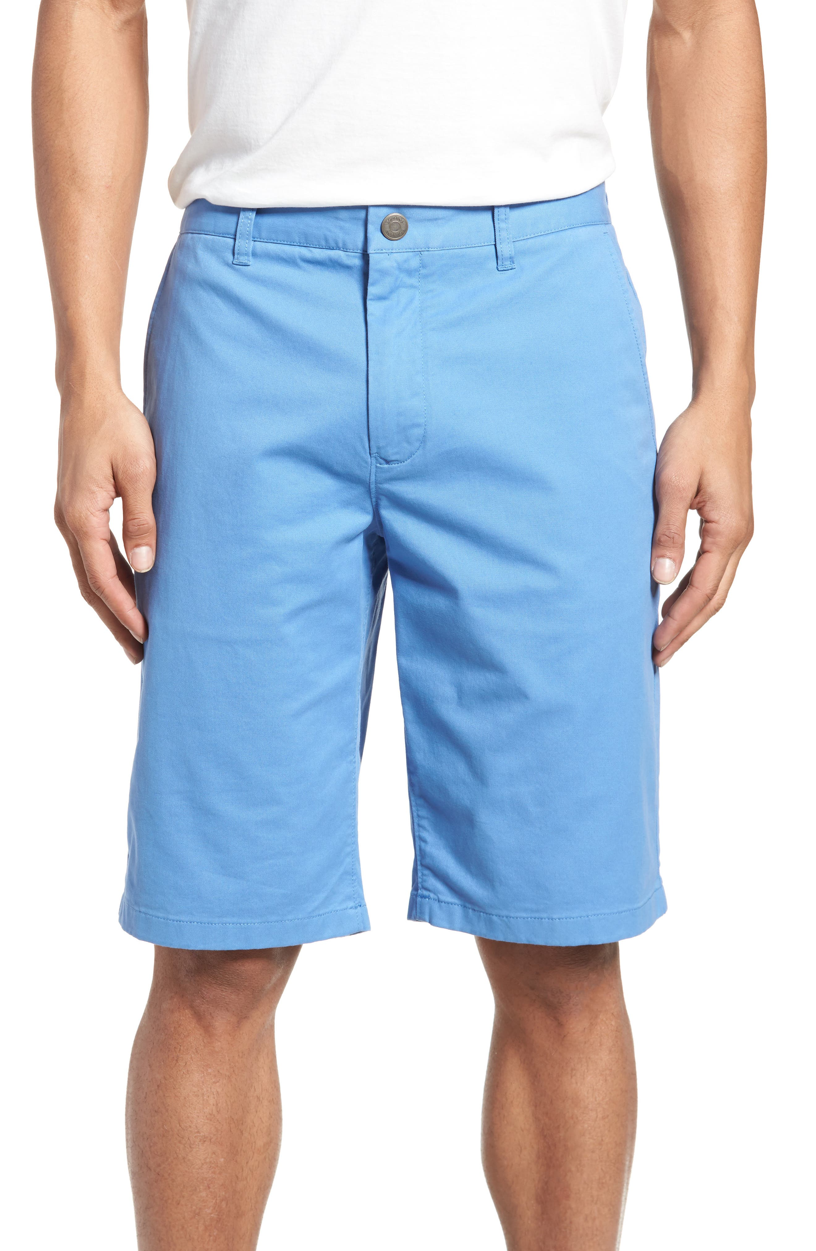 Stretch Washed Chino 11-Inch Shorts,                             Main thumbnail 6, color,