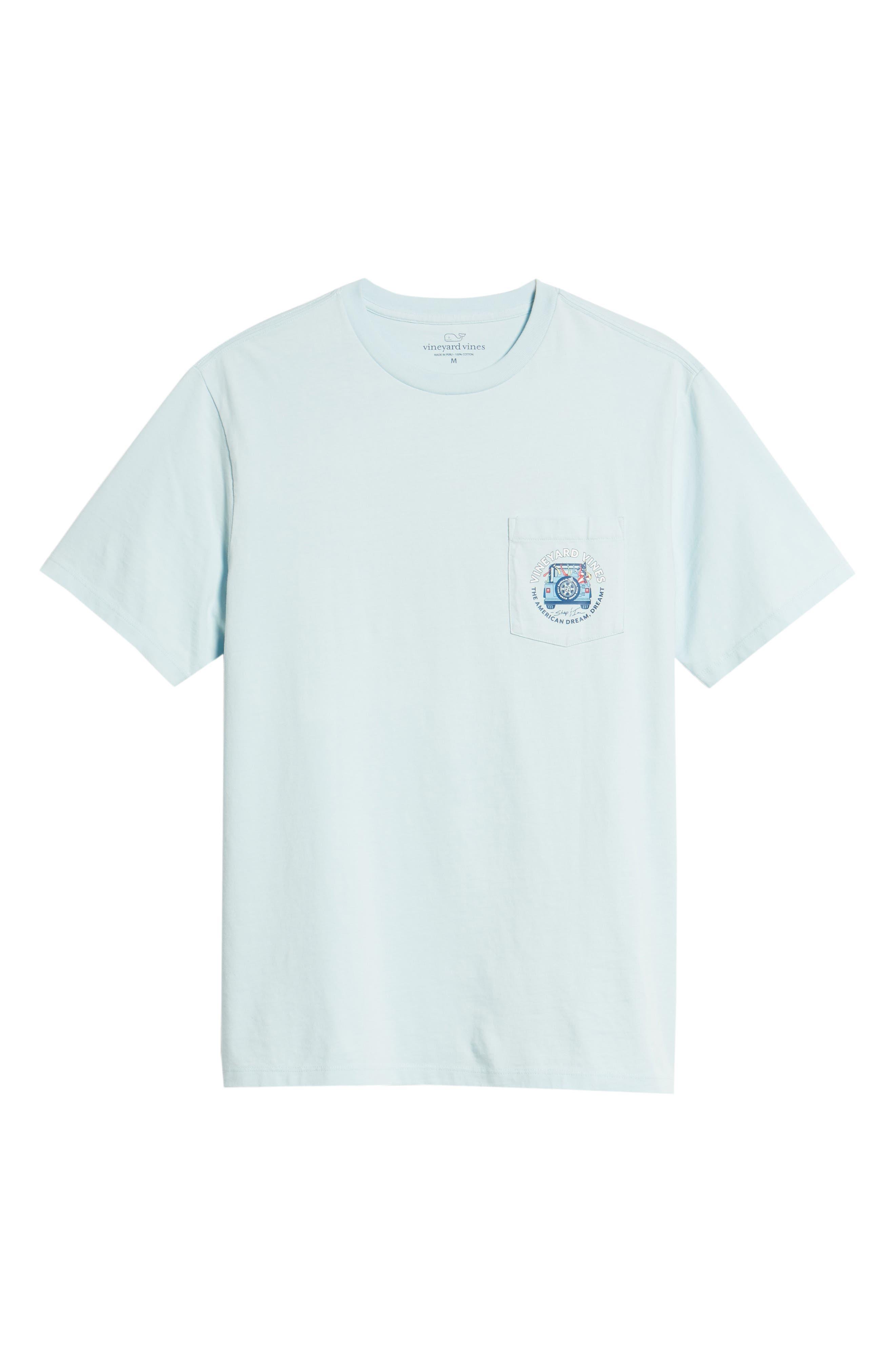 American Dream Logo T-Shirt,                             Alternate thumbnail 6, color,                             424