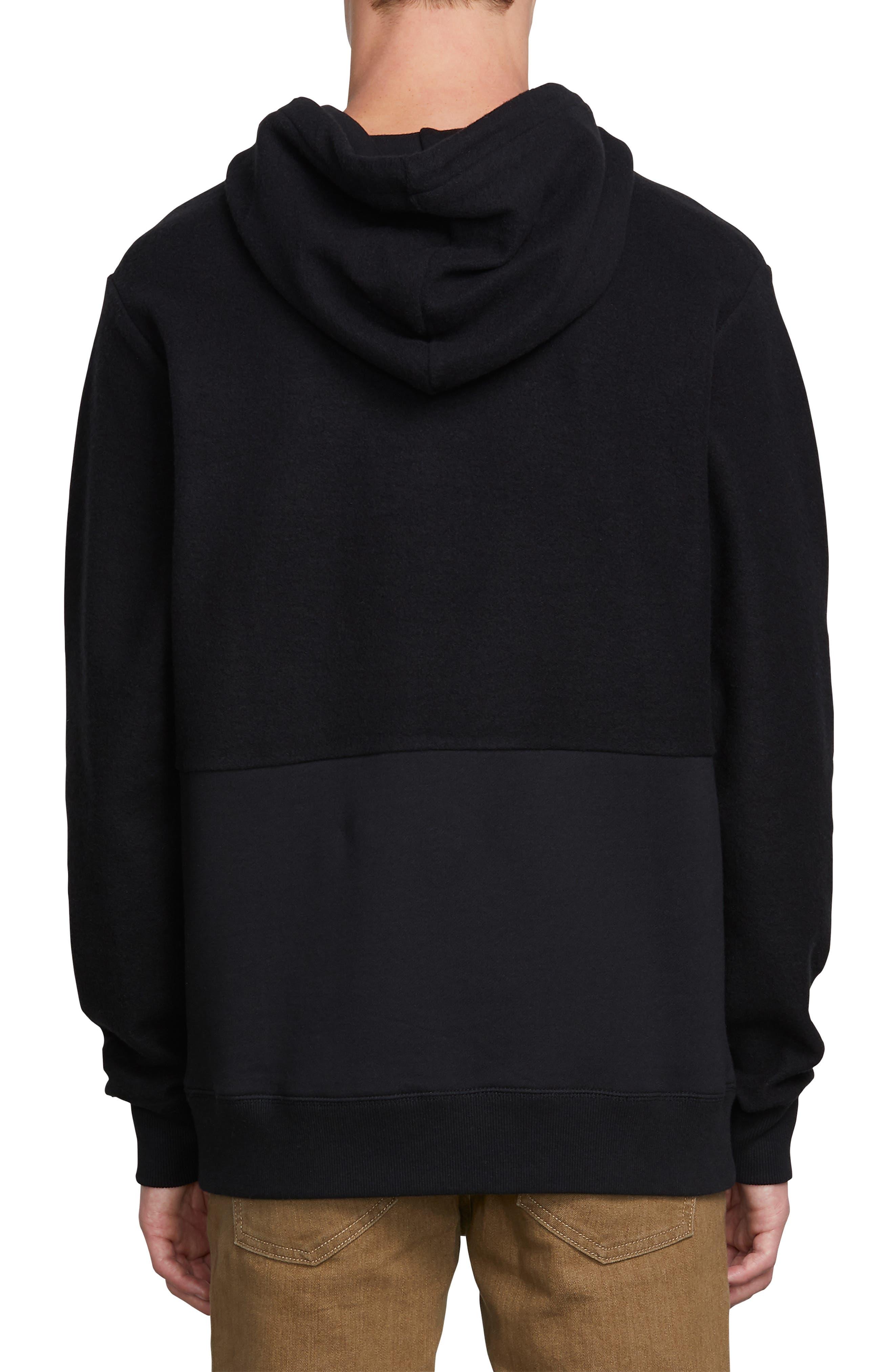 Single Stone Subdivision Hoodie Sweatshirt,                             Alternate thumbnail 2, color,                             BLACK