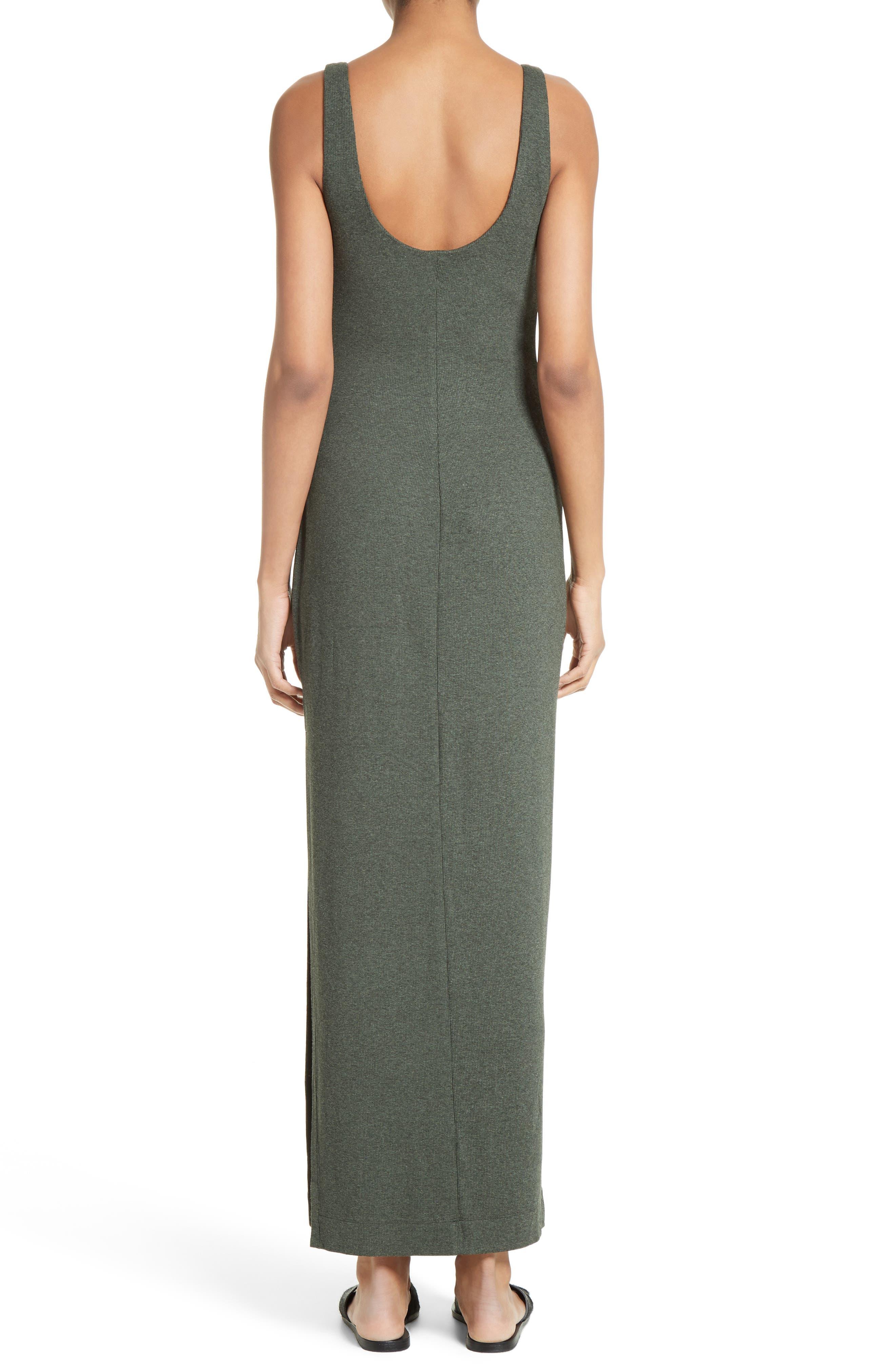 Tank Maxi Dress,                             Alternate thumbnail 3, color,