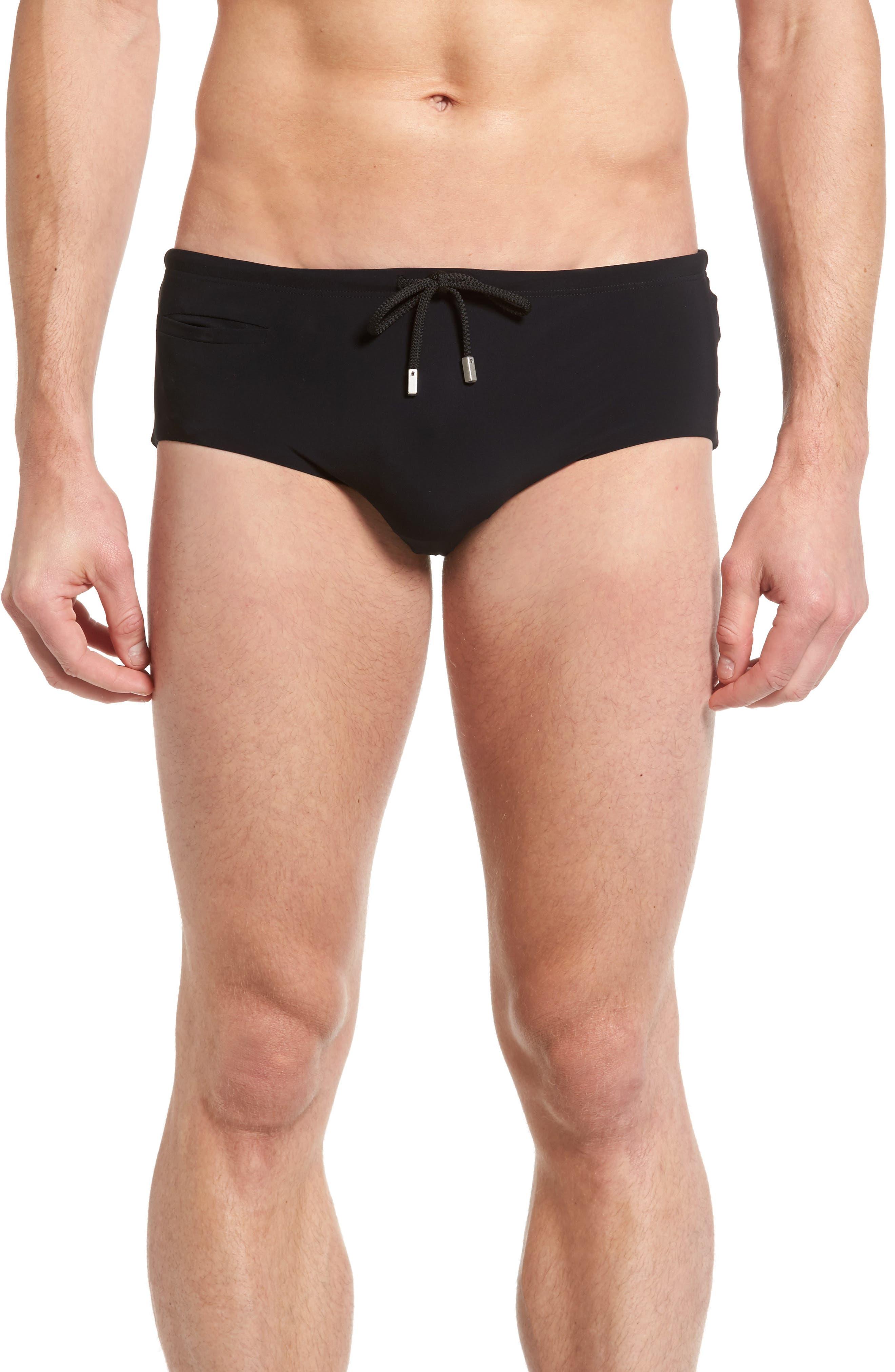 Tuxedo Swim Briefs,                         Main,                         color, 001