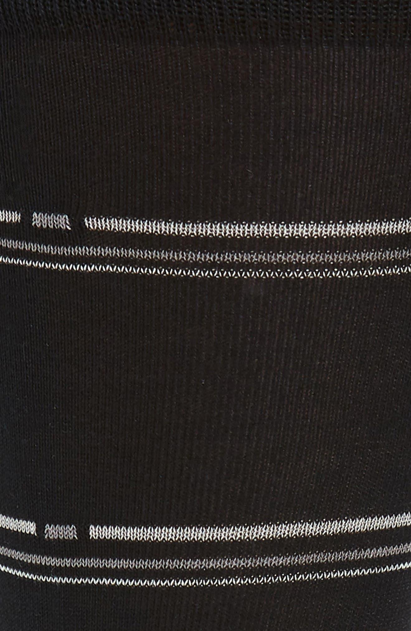Broken Stripe Socks,                             Alternate thumbnail 2, color,                             001