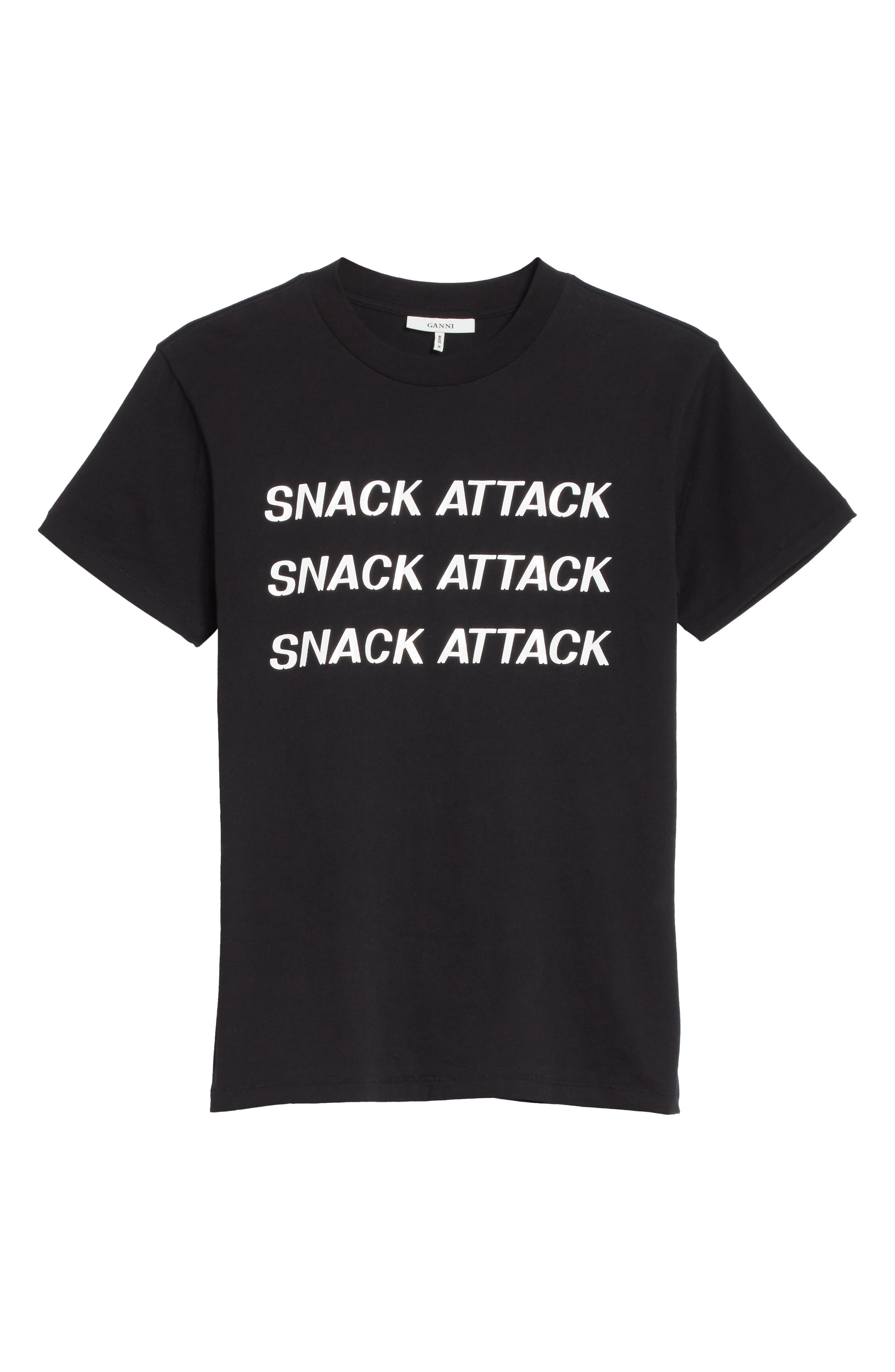 Harway Snack Attack Tee,                             Alternate thumbnail 6, color,                             001