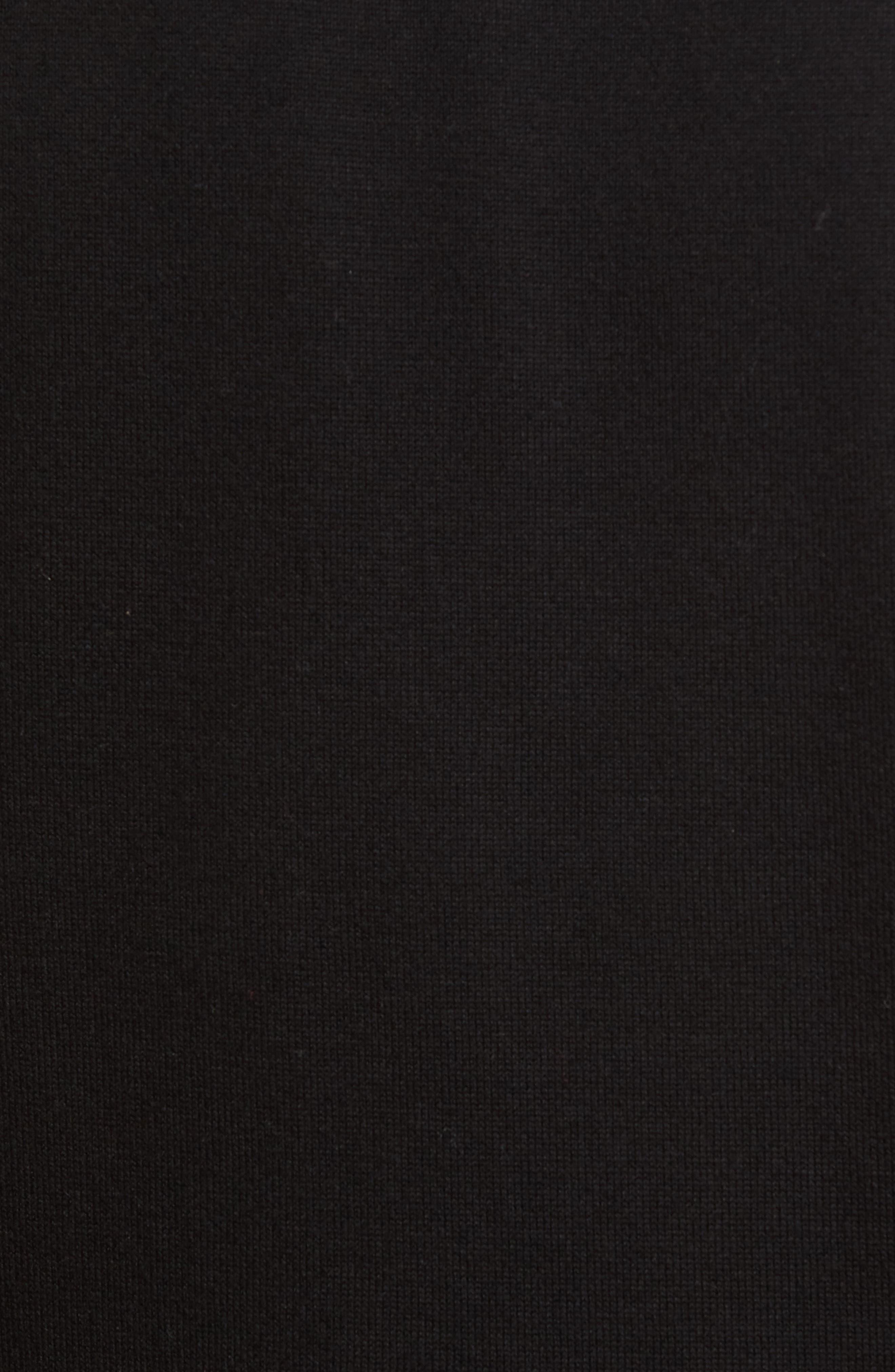 Lakemont V-Neck Sweater Vest,                             Alternate thumbnail 5, color,                             BLACK