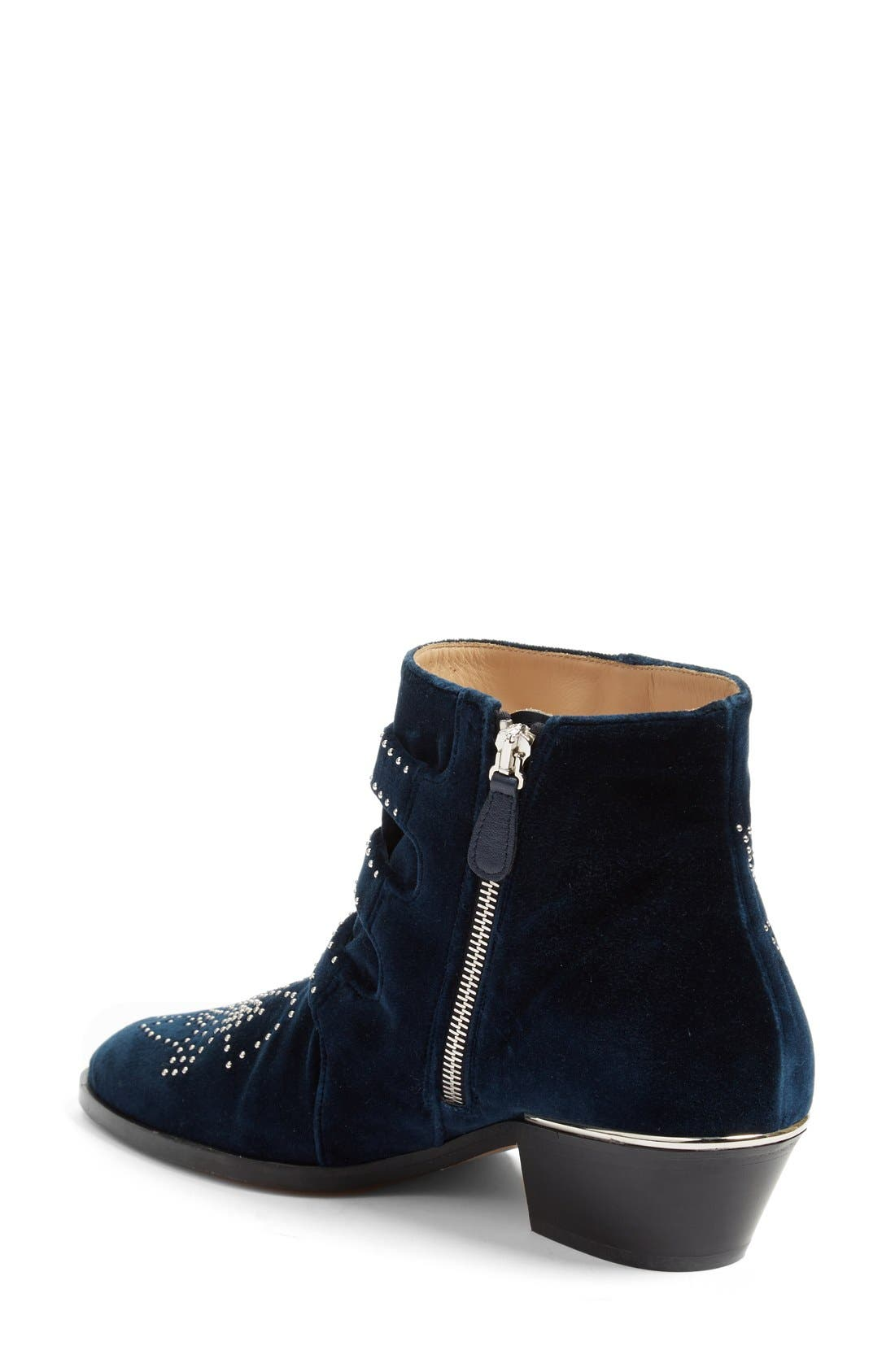 'Susan' Studded Buckle Boot,                             Alternate thumbnail 2, color,                             400