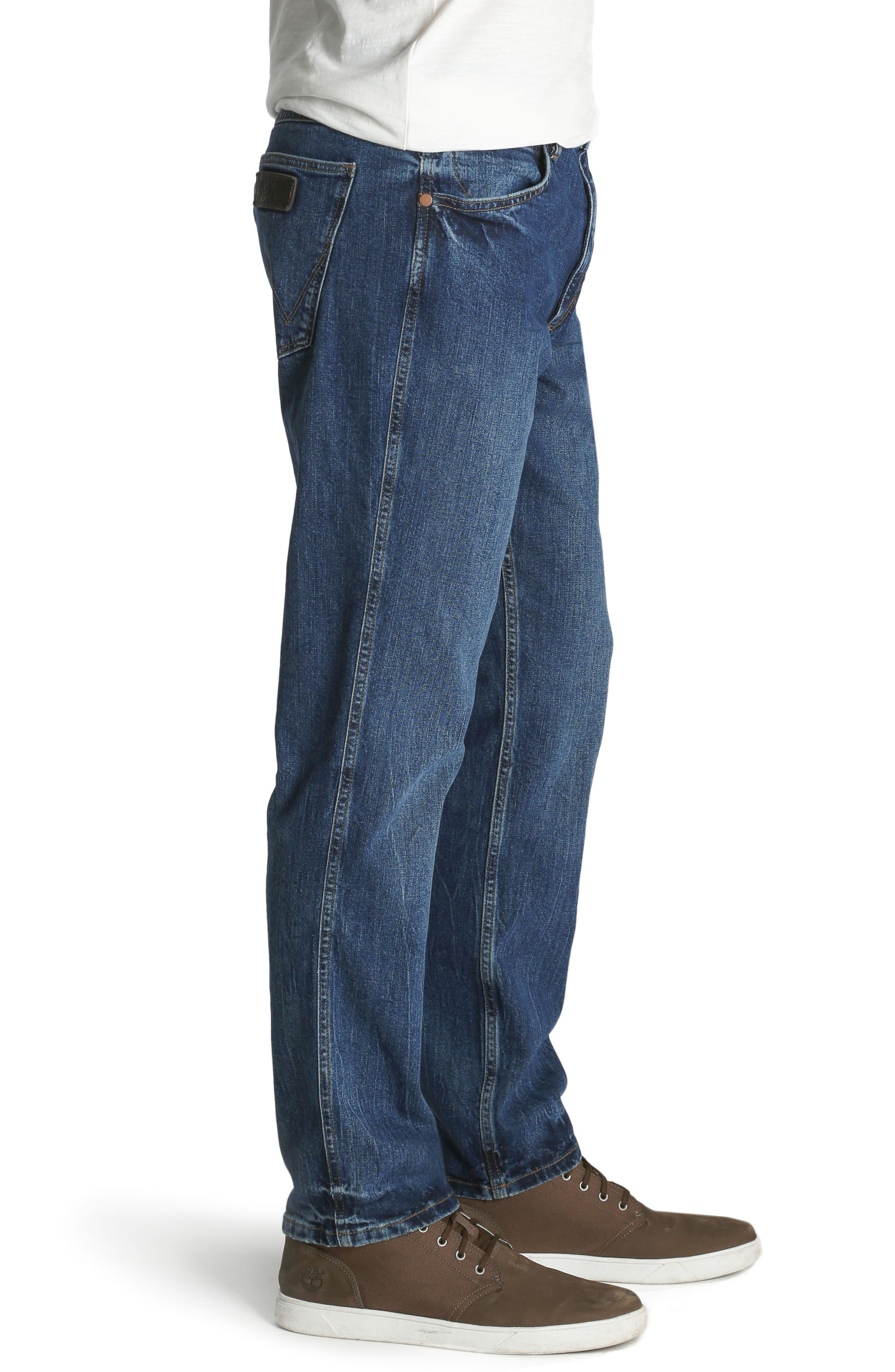 Greensboro Straight Leg Jeans,                             Alternate thumbnail 3, color,                             GOOD THING