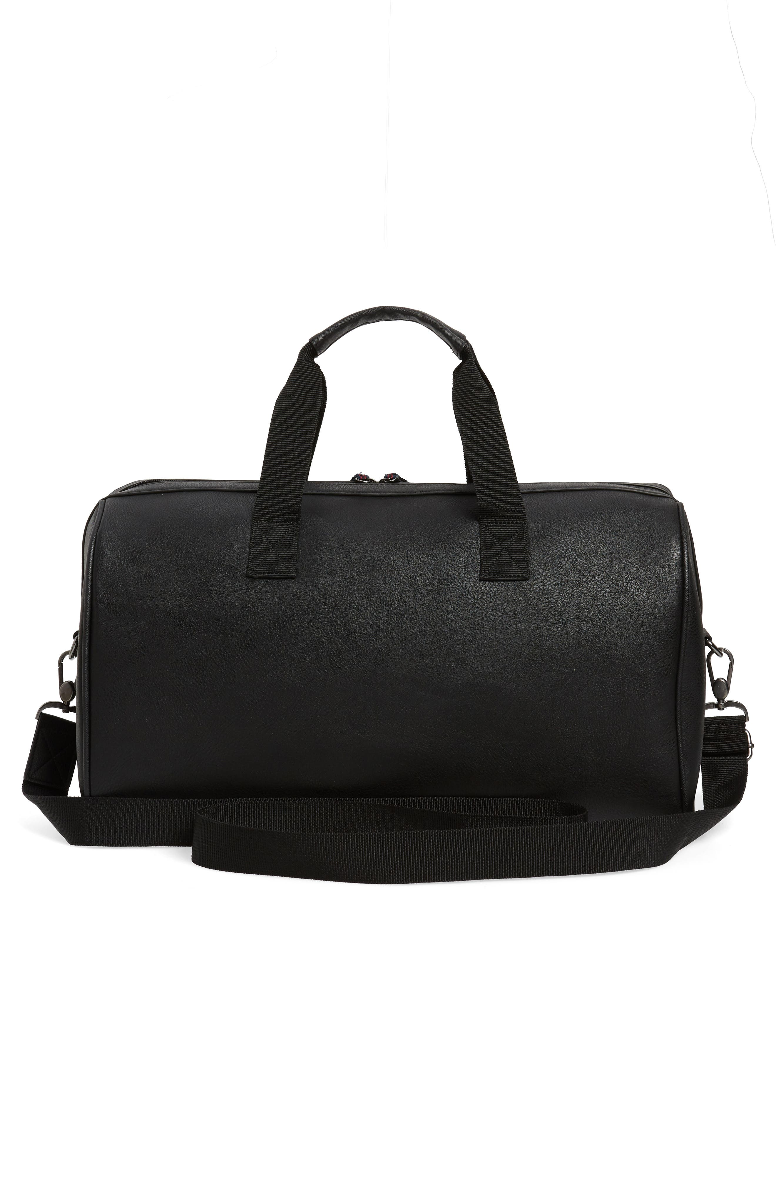 Webbing Duffel Bag,                             Alternate thumbnail 2, color,                             BLACK