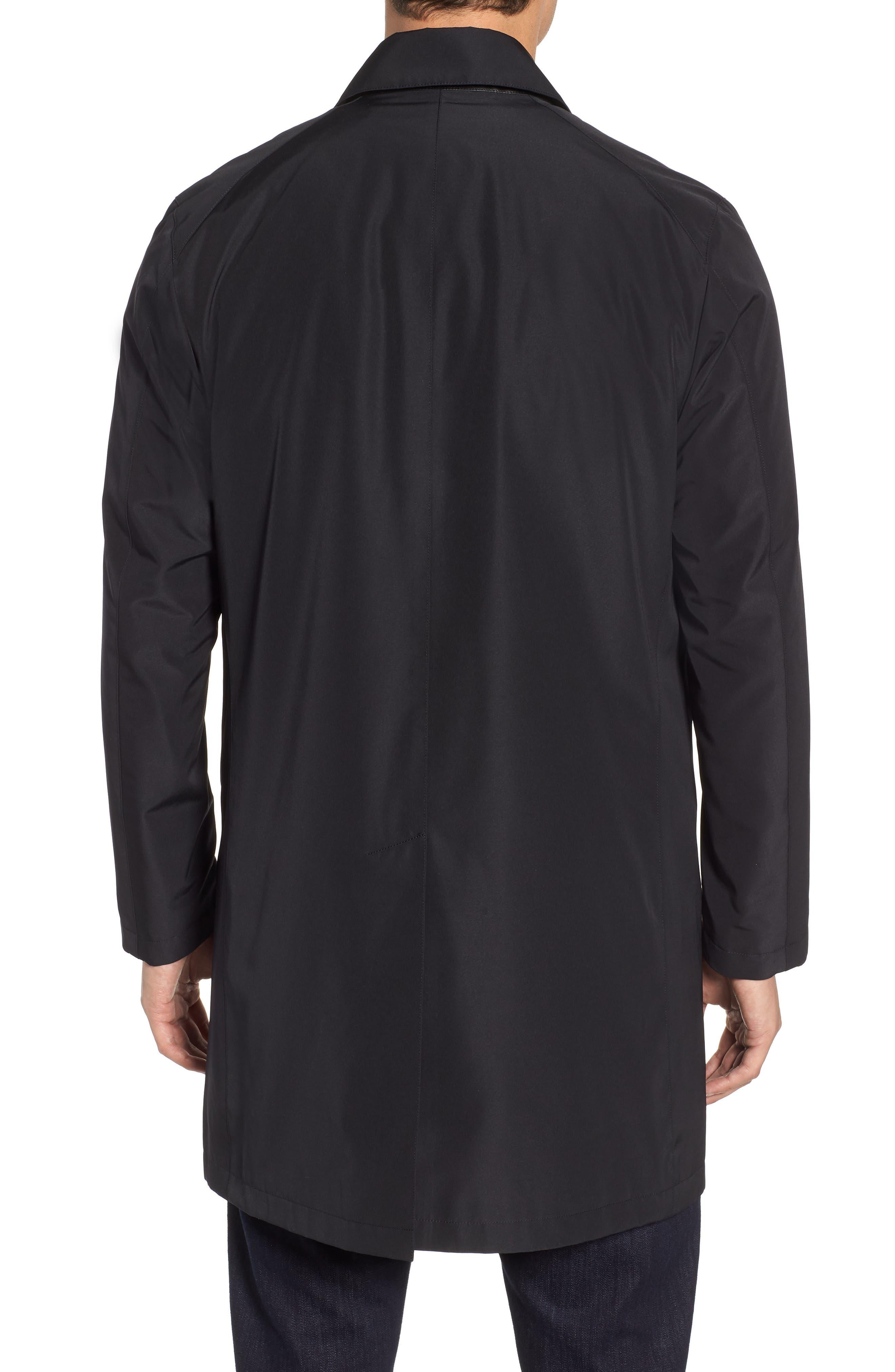 Ducasse Raincoat,                             Alternate thumbnail 2, color,                             BLACK