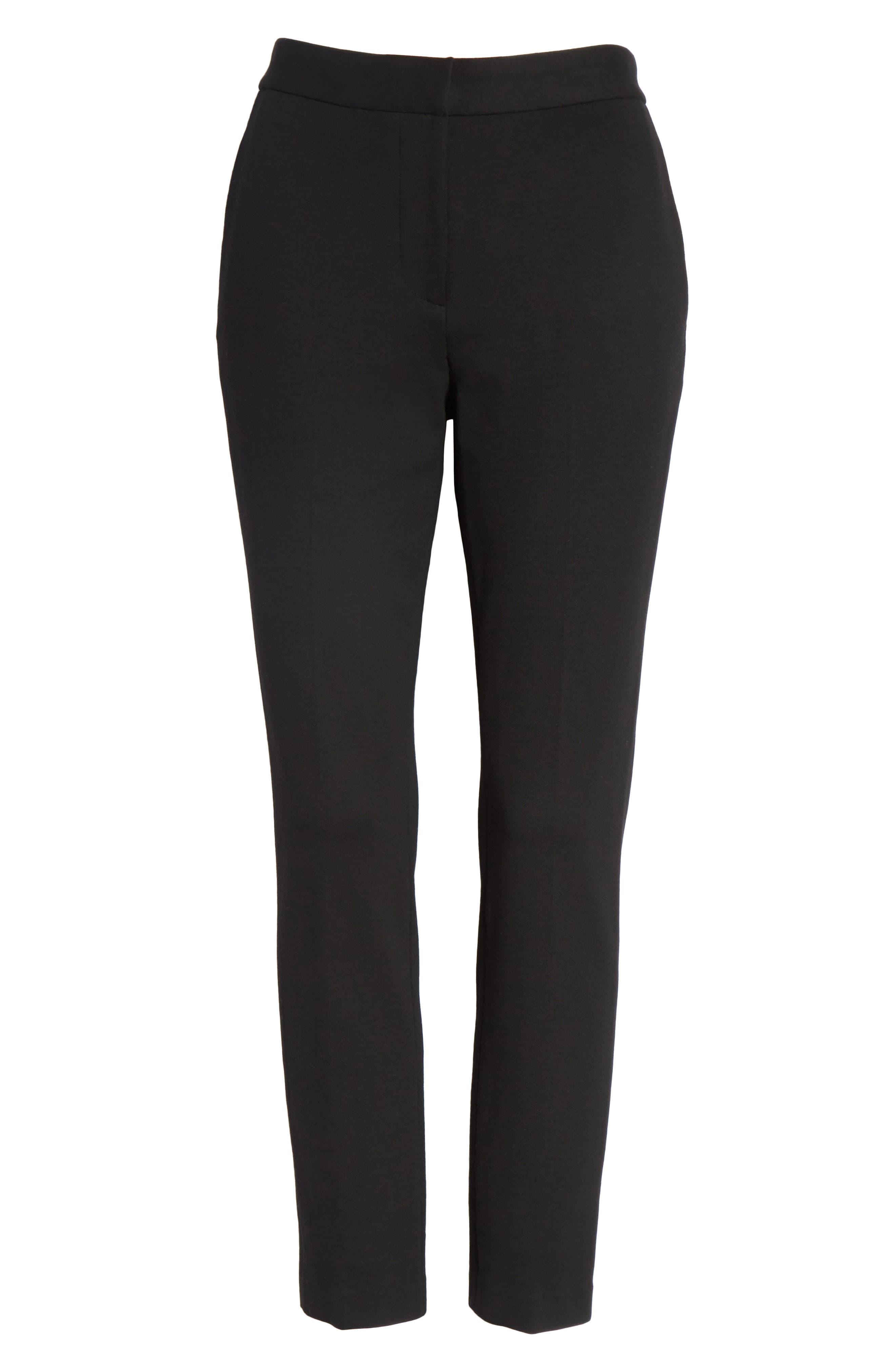 Crop Skinny Pants,                             Alternate thumbnail 6, color,                             001