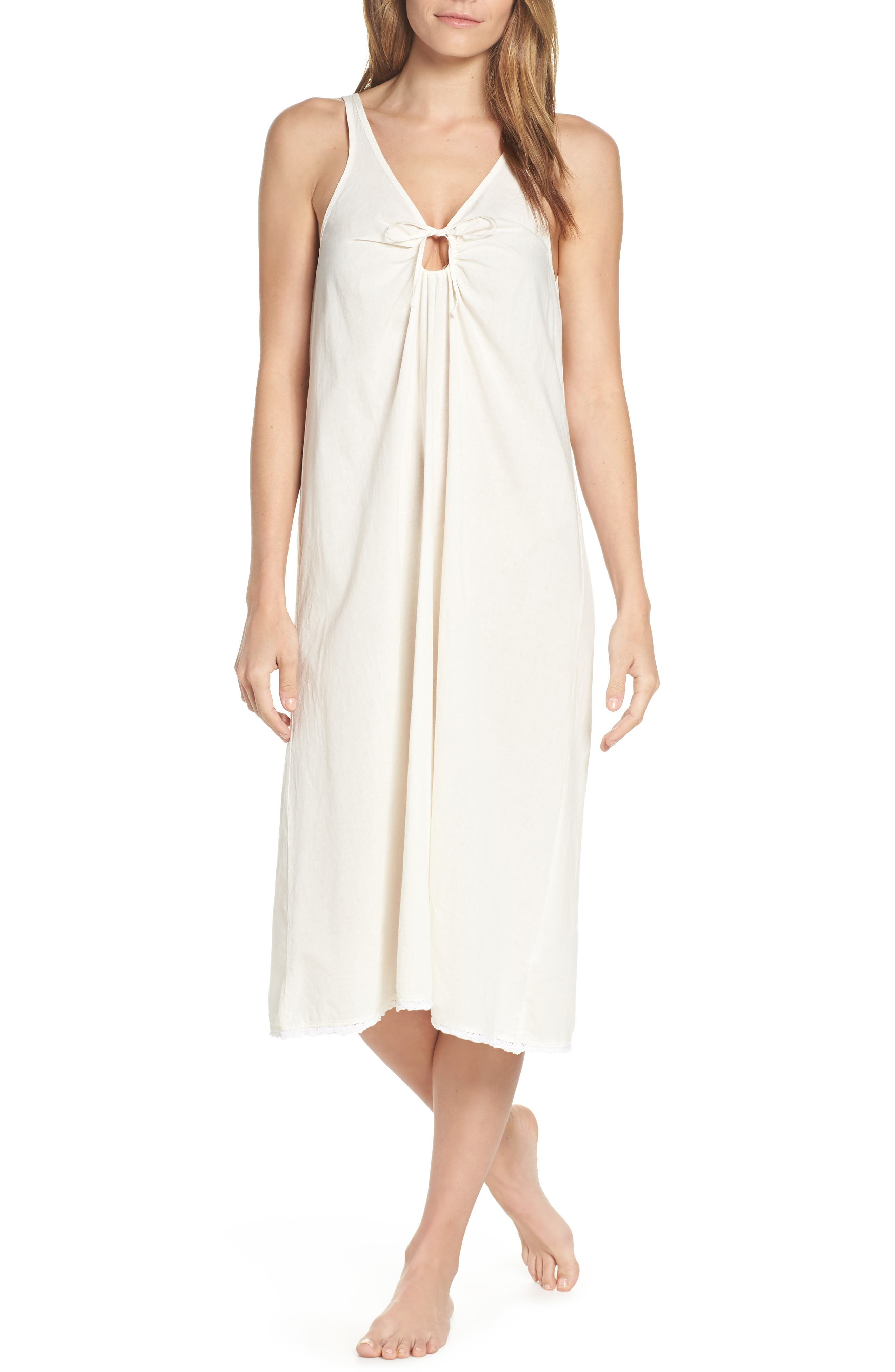 Lacausa Wendy Nightgown, Ivory