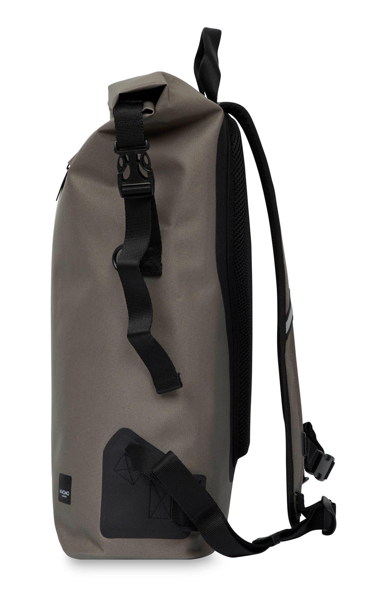 Thames Cromwell Roll Top Backpack,                             Alternate thumbnail 4, color,                             KHAKI