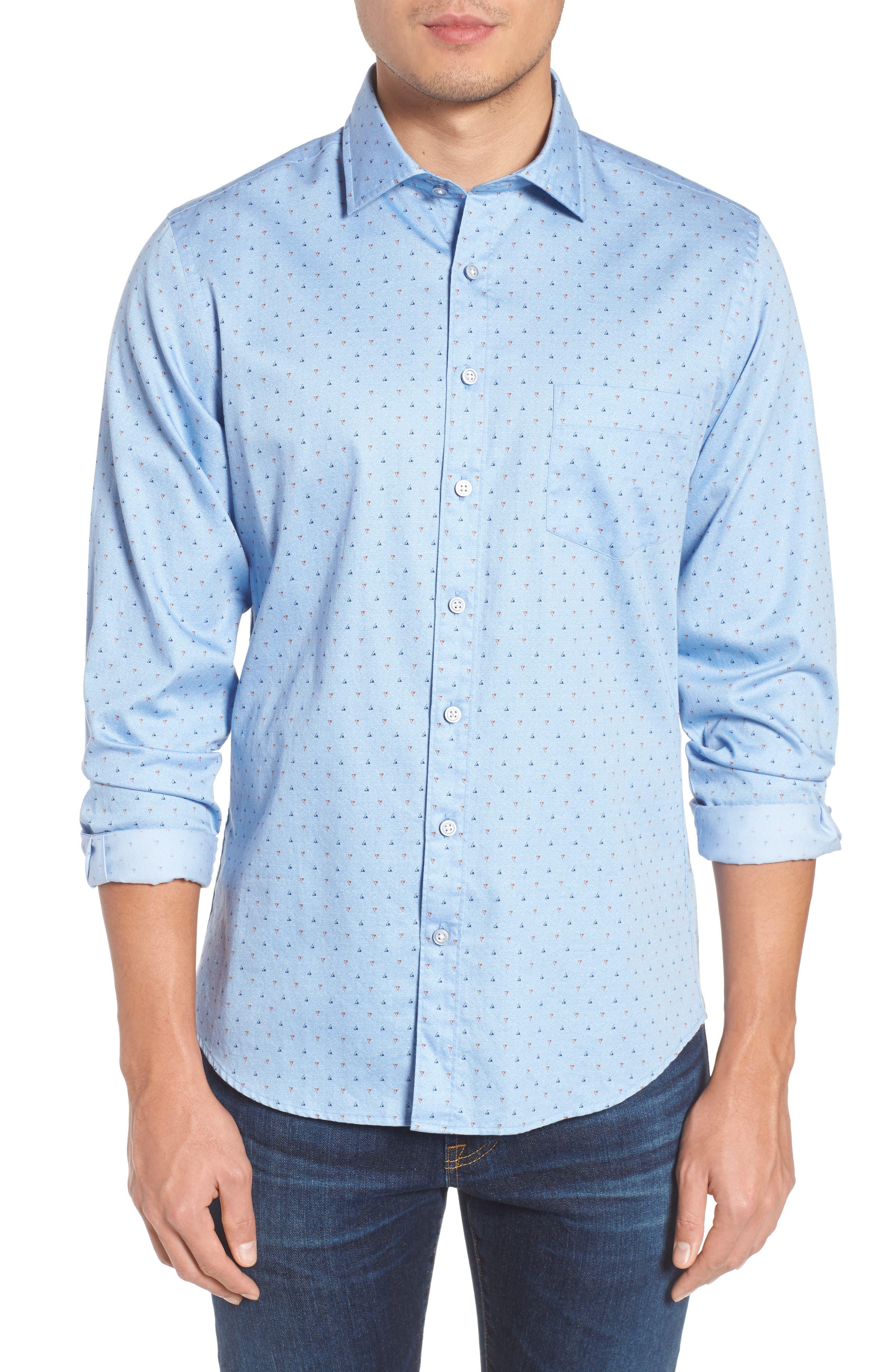 Penzance Regular Fit Sport Shirt,                         Main,                         color, 456
