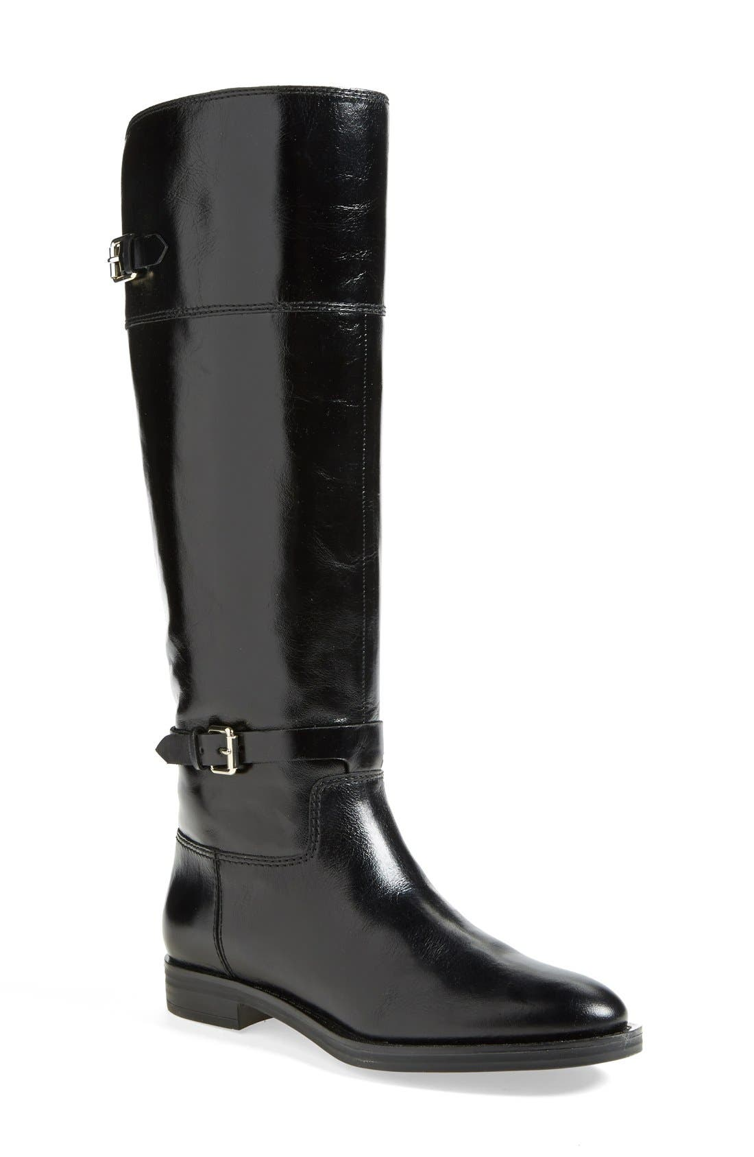 'Eero' Leather Boot, Main, color, 001