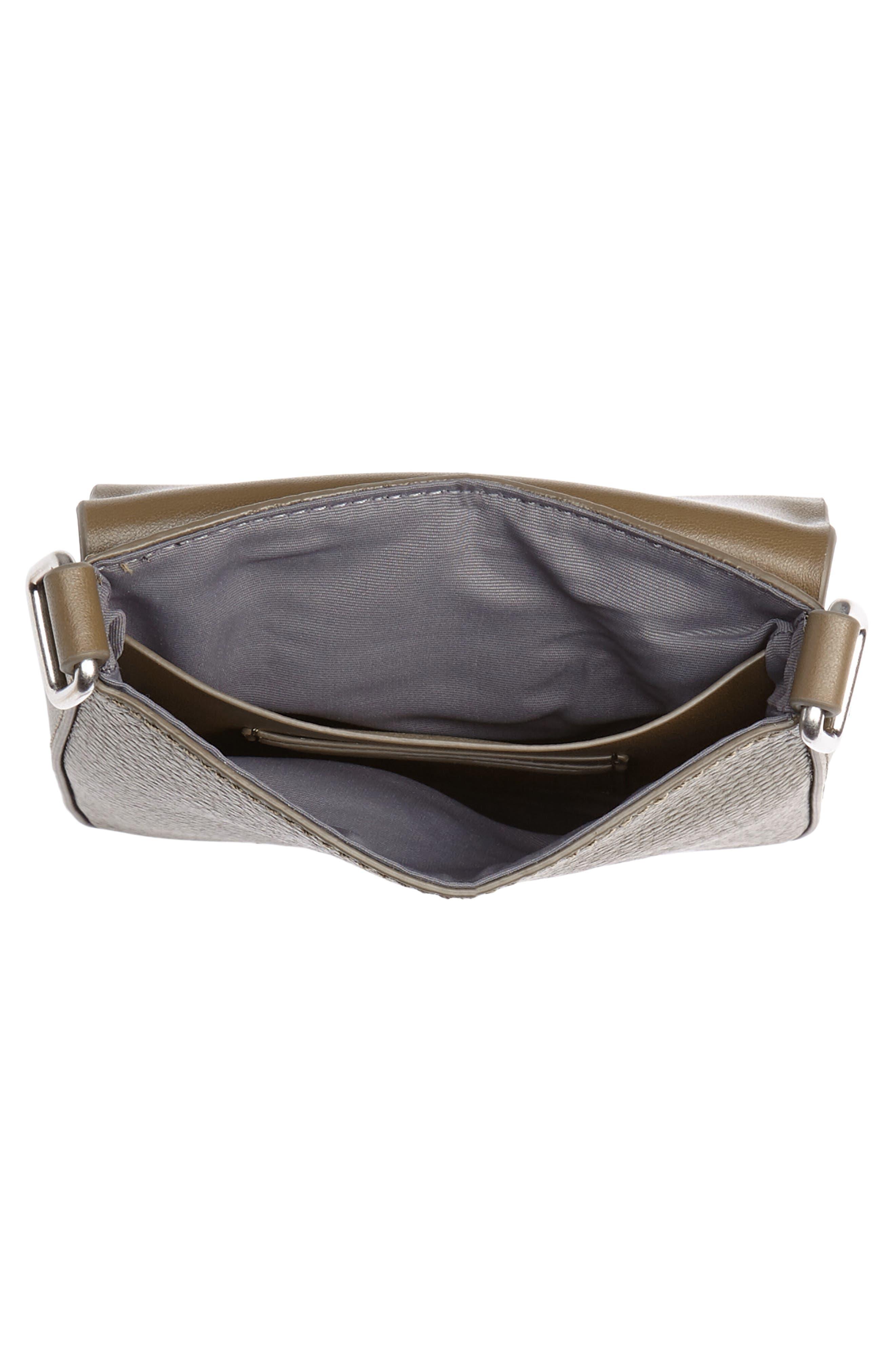 Treasure&Bond Madison Crossbody Bag,                             Alternate thumbnail 4, color,                             OLIVE GROVE