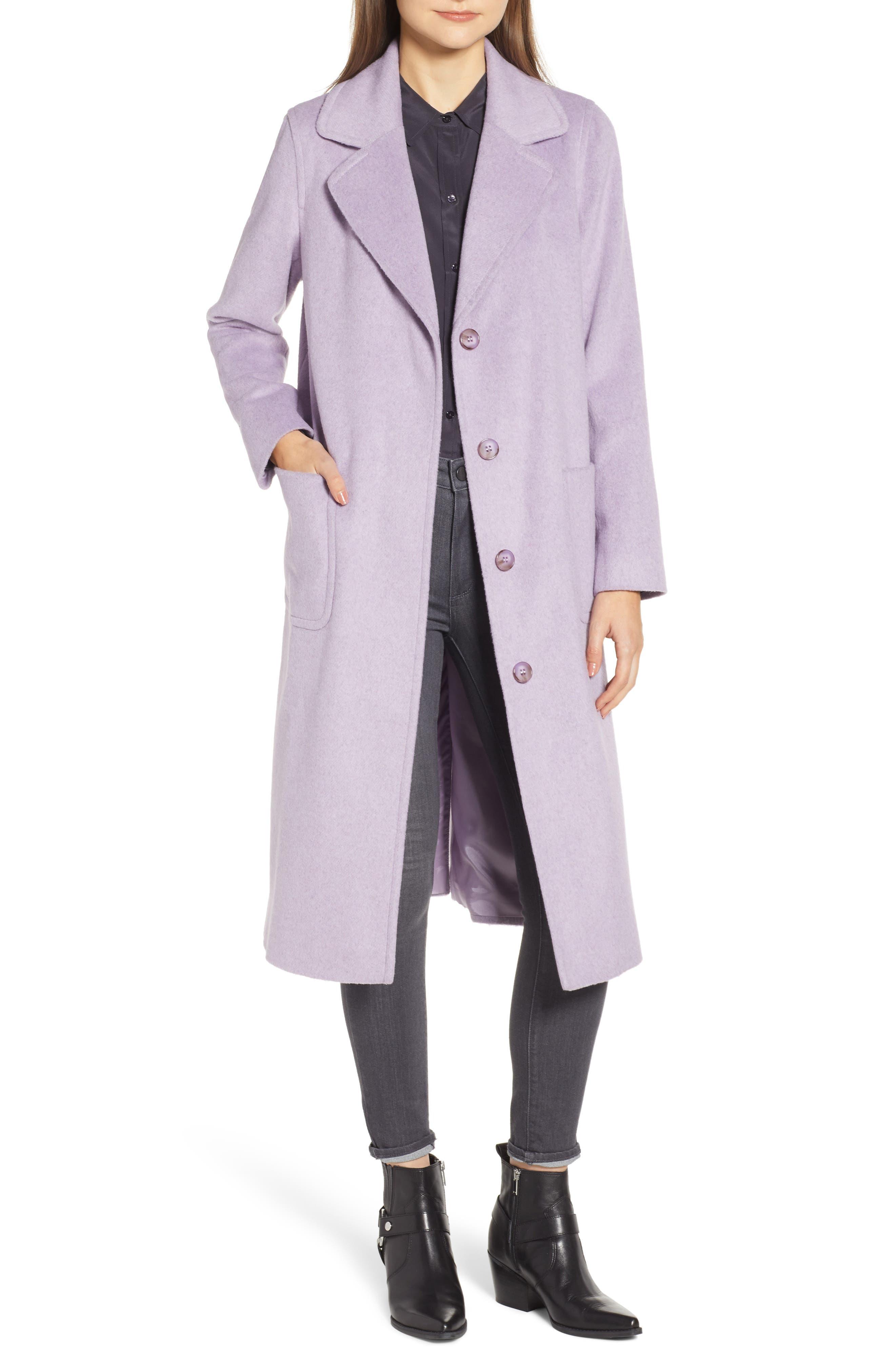 Ruth Knee Length Coat, Main, color, 500