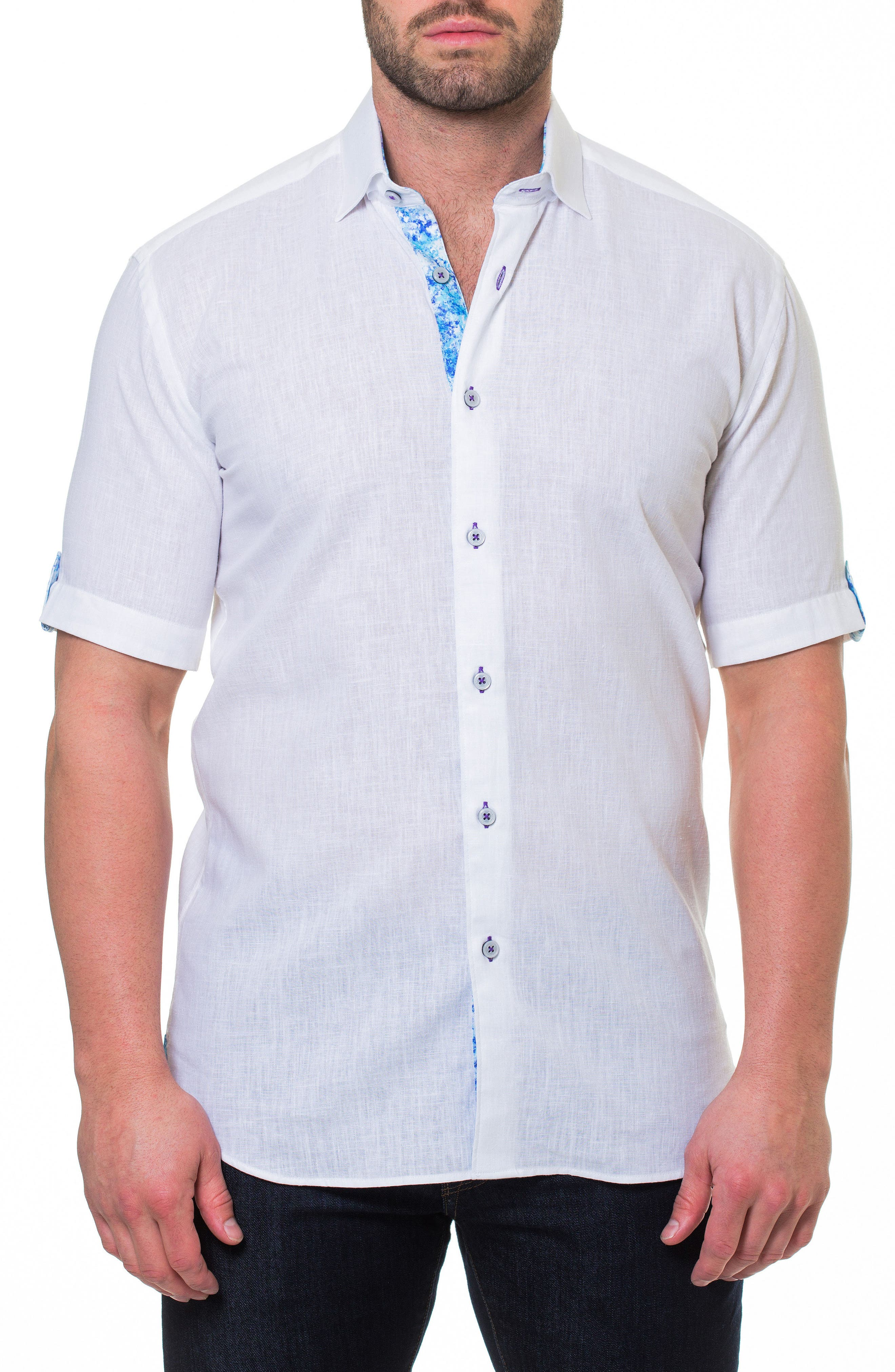 Fresh Powder Slim Fit Sport Shirt,                             Main thumbnail 1, color,