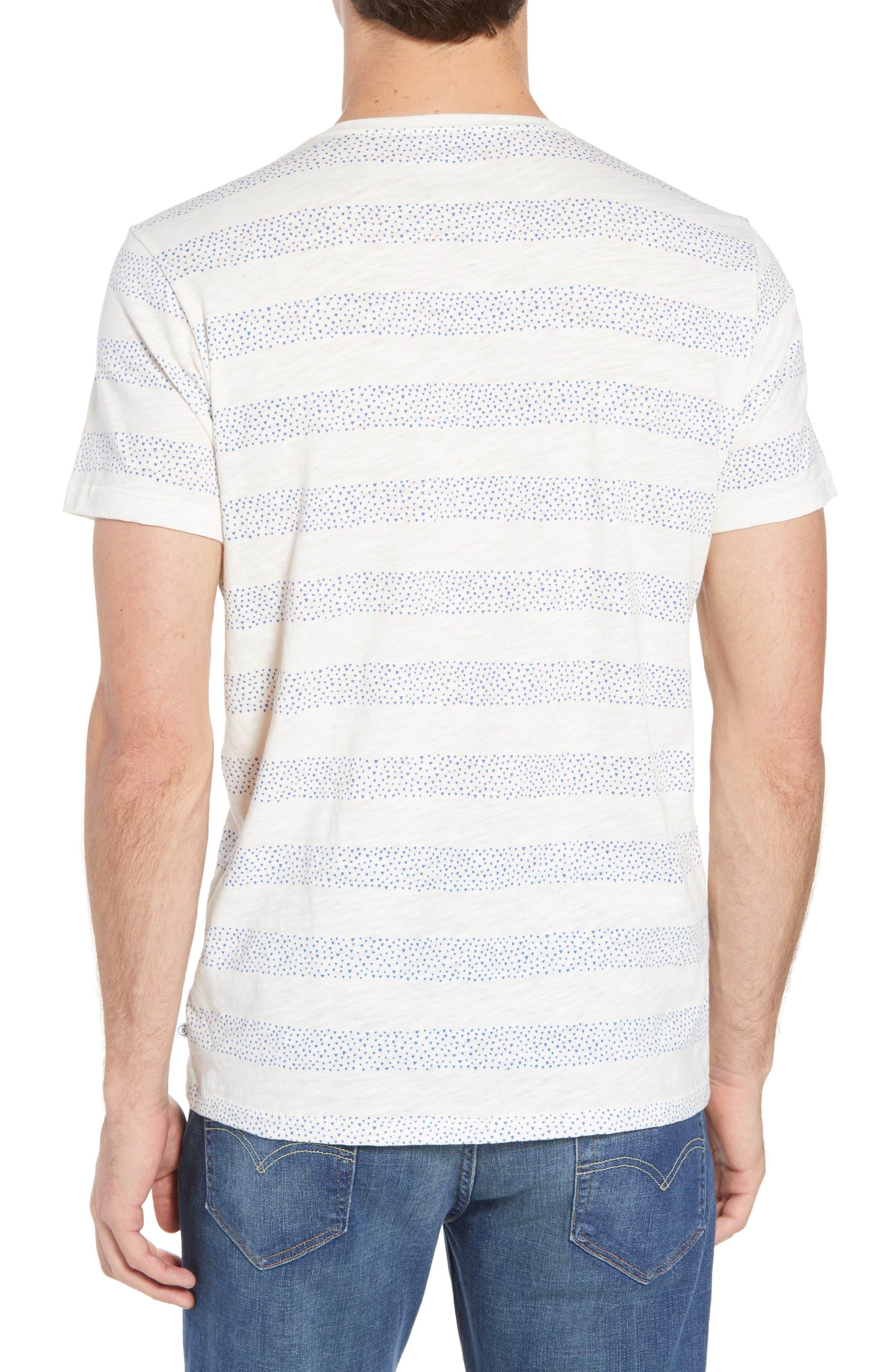 Stripe Slub T-Shirt,                             Alternate thumbnail 2, color,