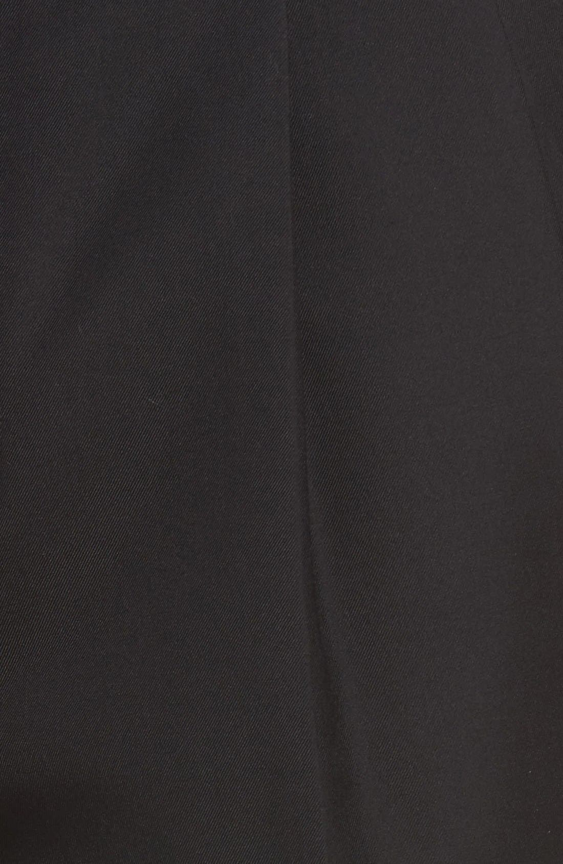 Pleated Microfiber Dress Pants,                             Alternate thumbnail 7, color,