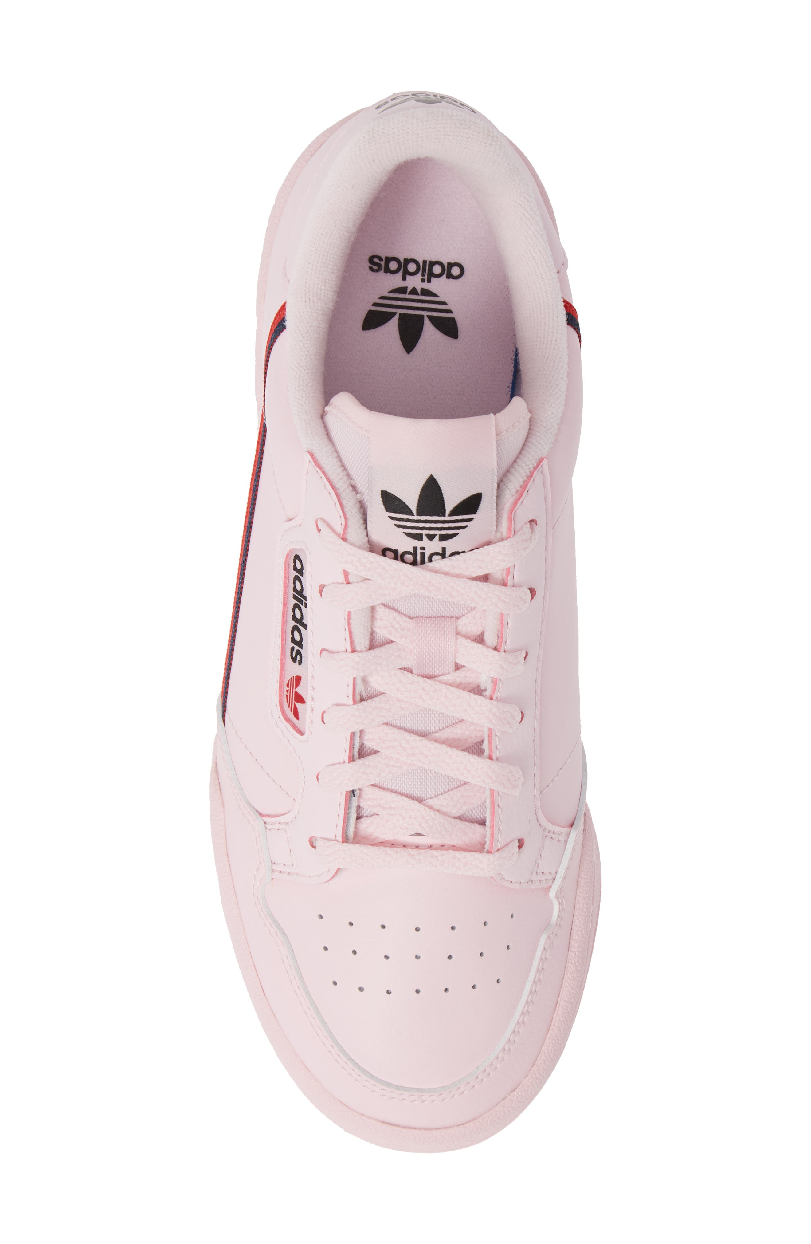 ADIDAS,                             Continental 80 Sneaker,                             Alternate thumbnail 5, color,                             CLEAR PINK