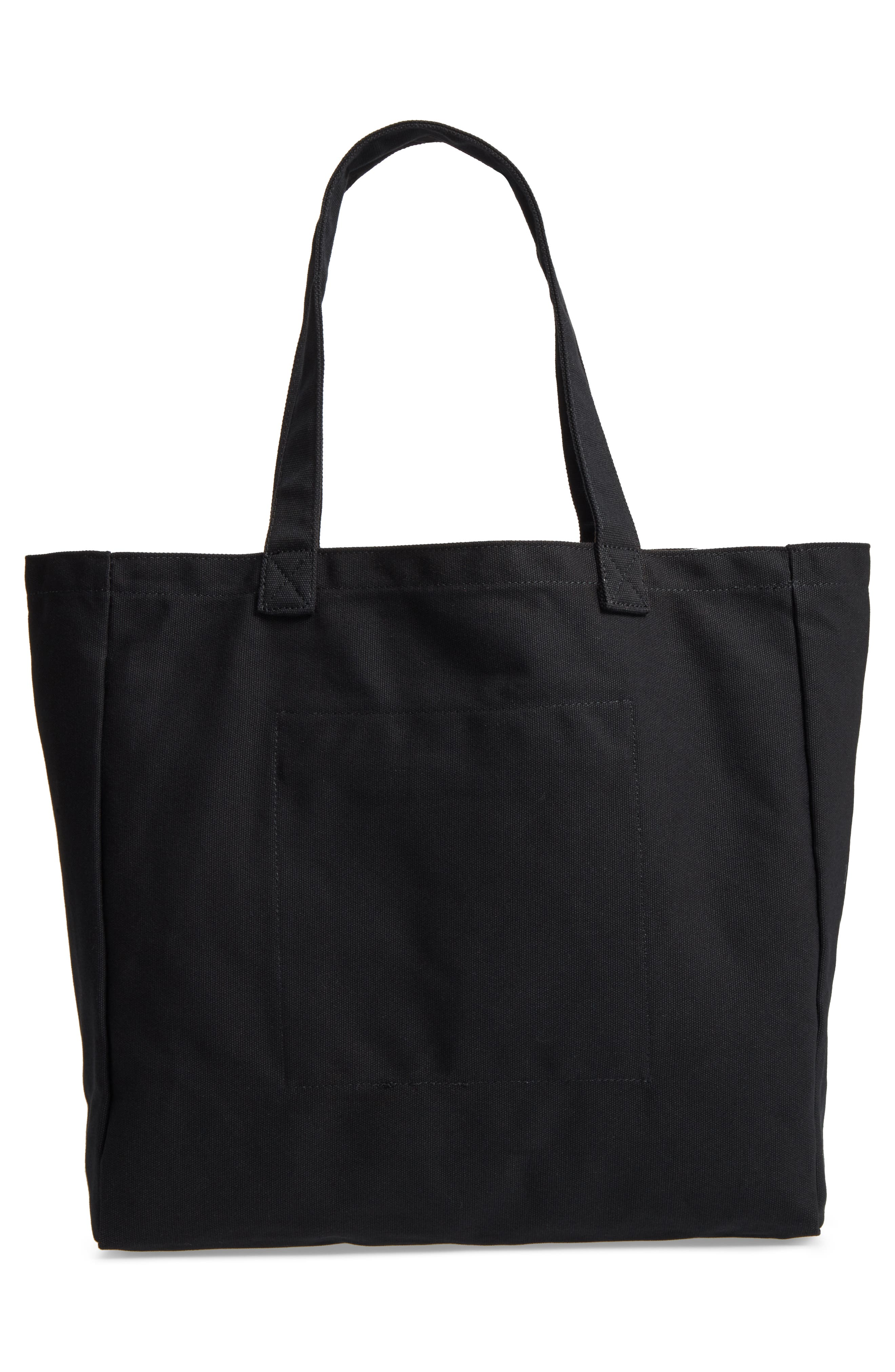 Oversized Canvas Tote,                             Alternate thumbnail 7, color,