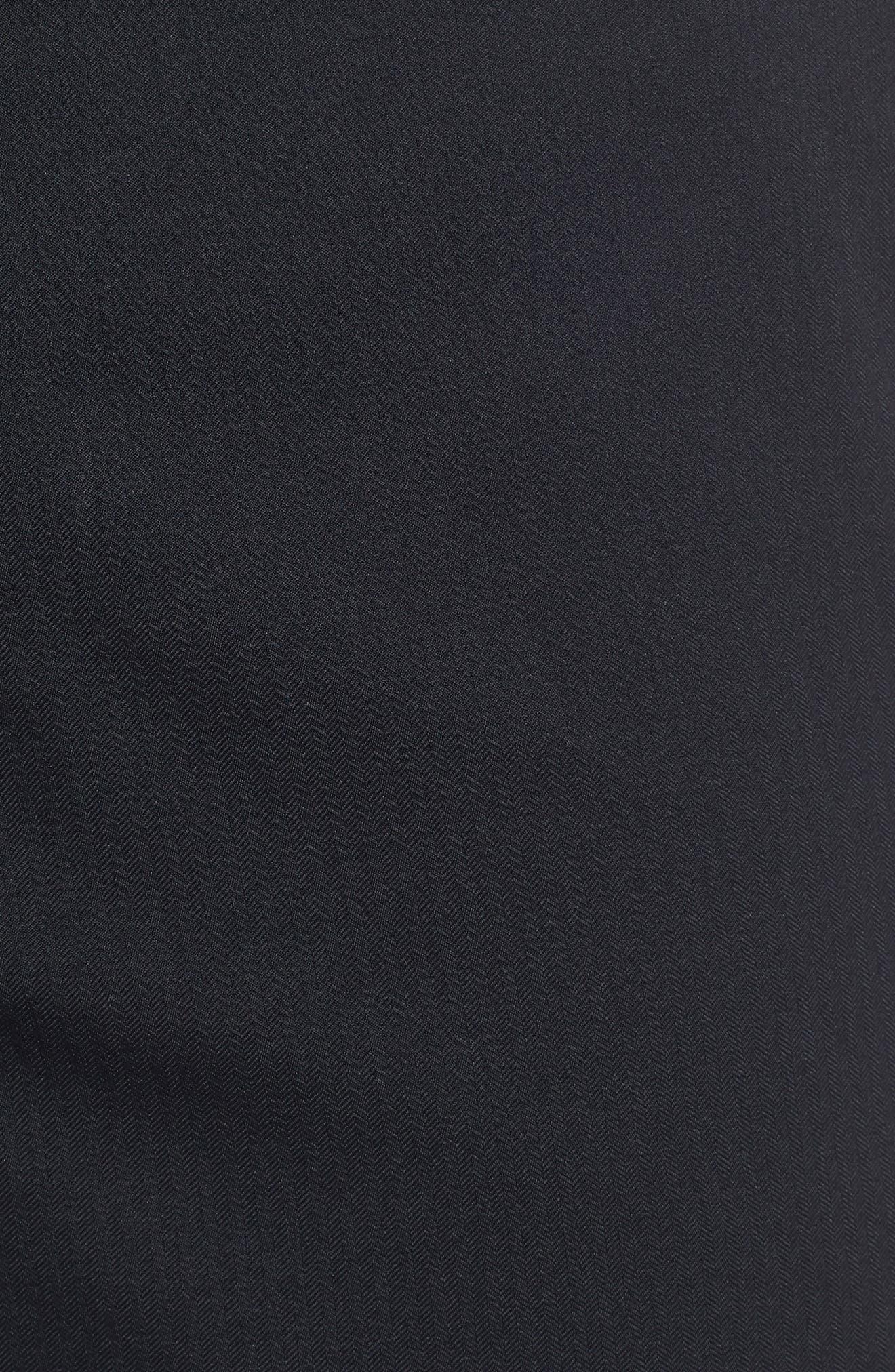 Takeover Regular Fit Golf Shorts,                             Alternate thumbnail 5, color,                             BLACK