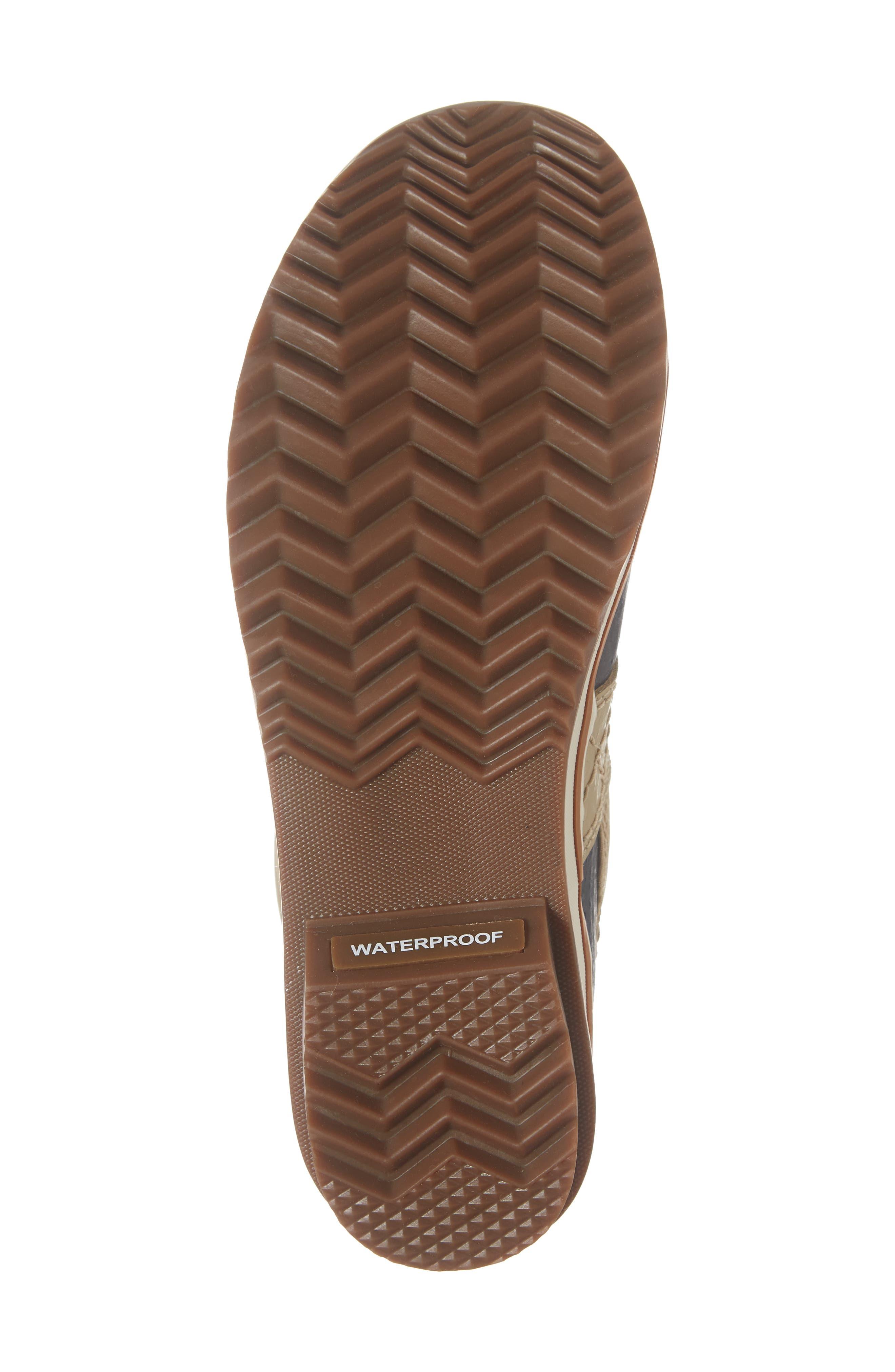 'Tofino II' Faux Fur Lined Waterproof Boot,                             Alternate thumbnail 6, color,                             OATMEAL