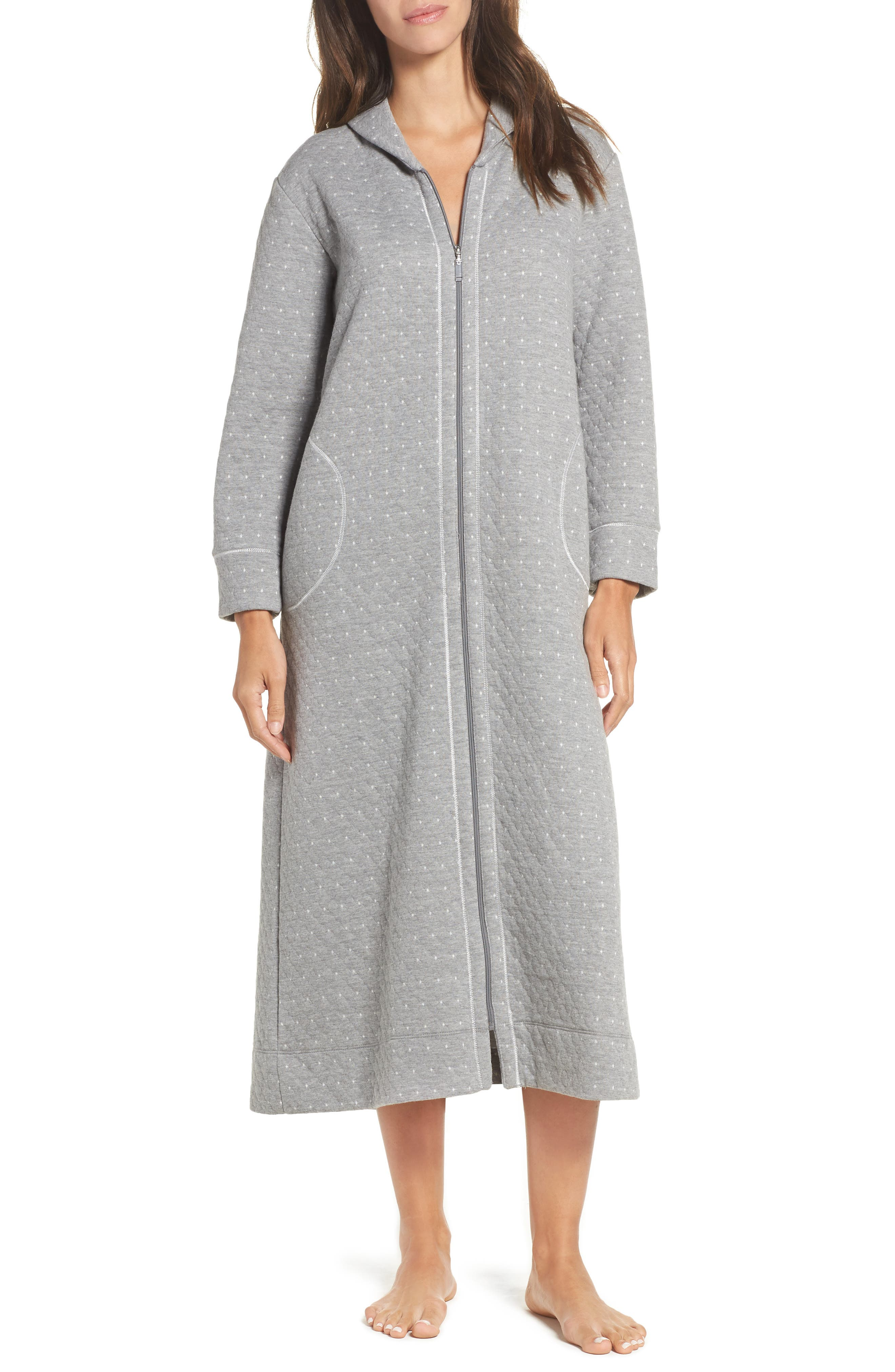 Long Zip Robe,                         Main,                         color, 065