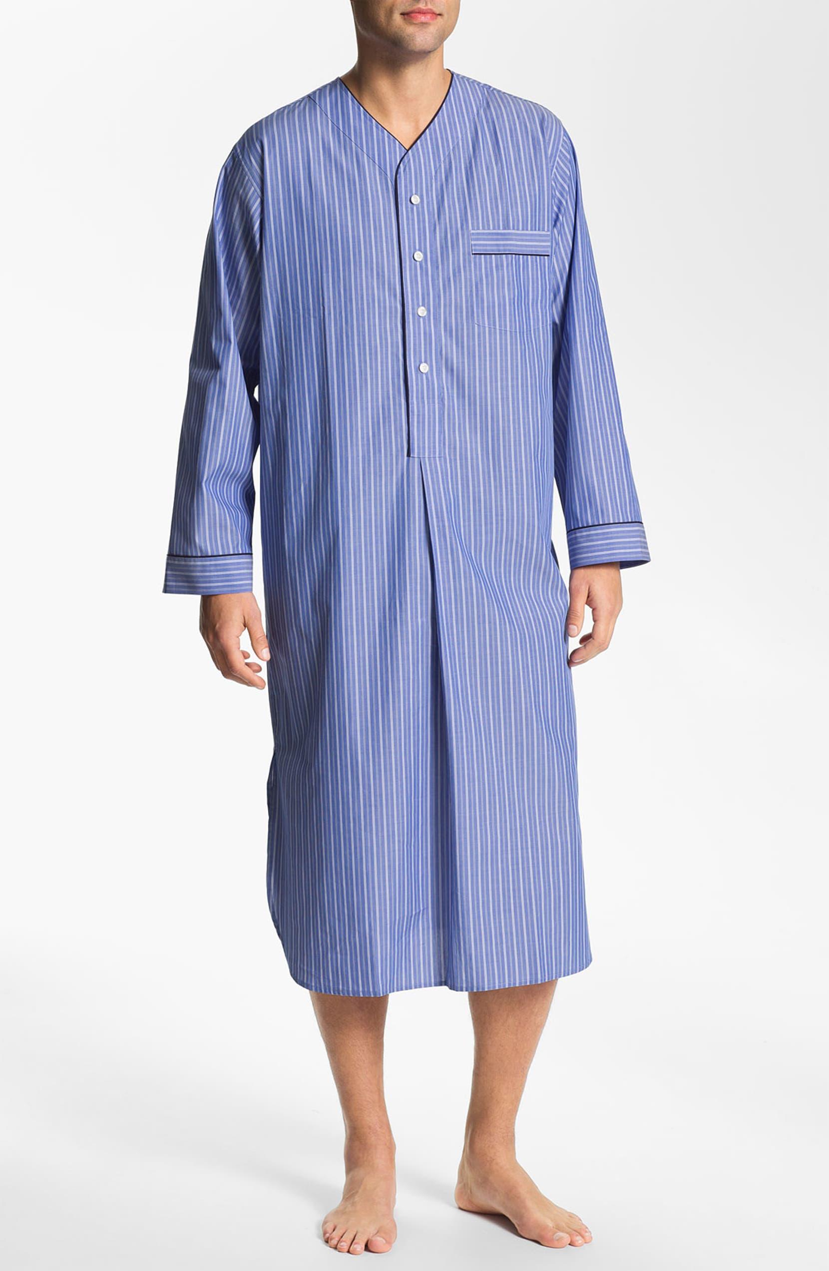 Brooks Brothers  Ground Stripe  Nightshirt  5ae57ab7e