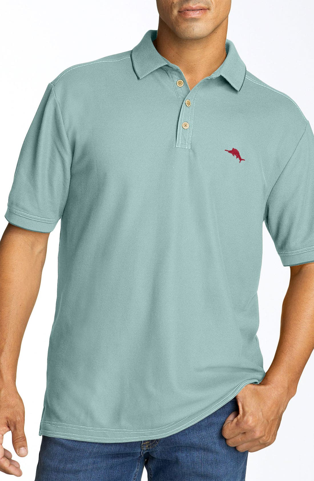 'The Emfielder' Original Fit Piqué Polo,                             Main thumbnail 57, color,