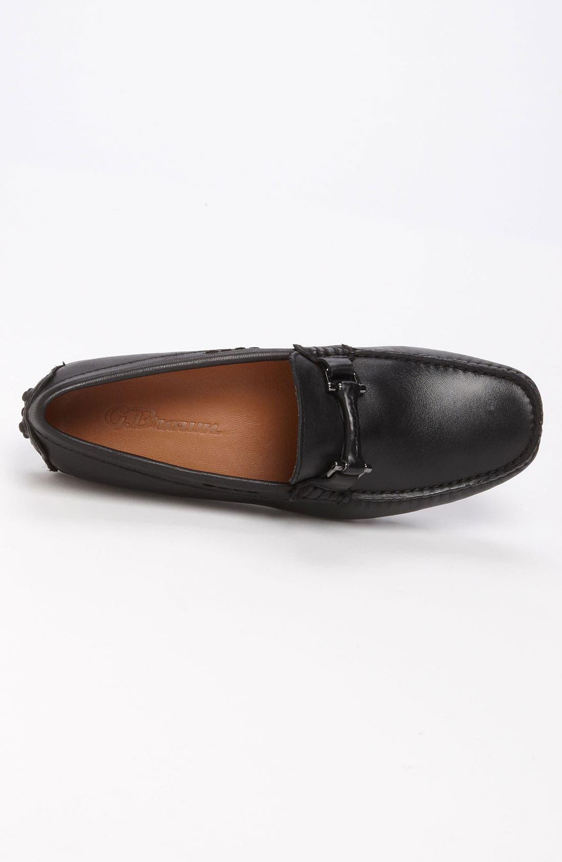 'Antigua' Driving Shoe,                             Alternate thumbnail 3, color,                             001