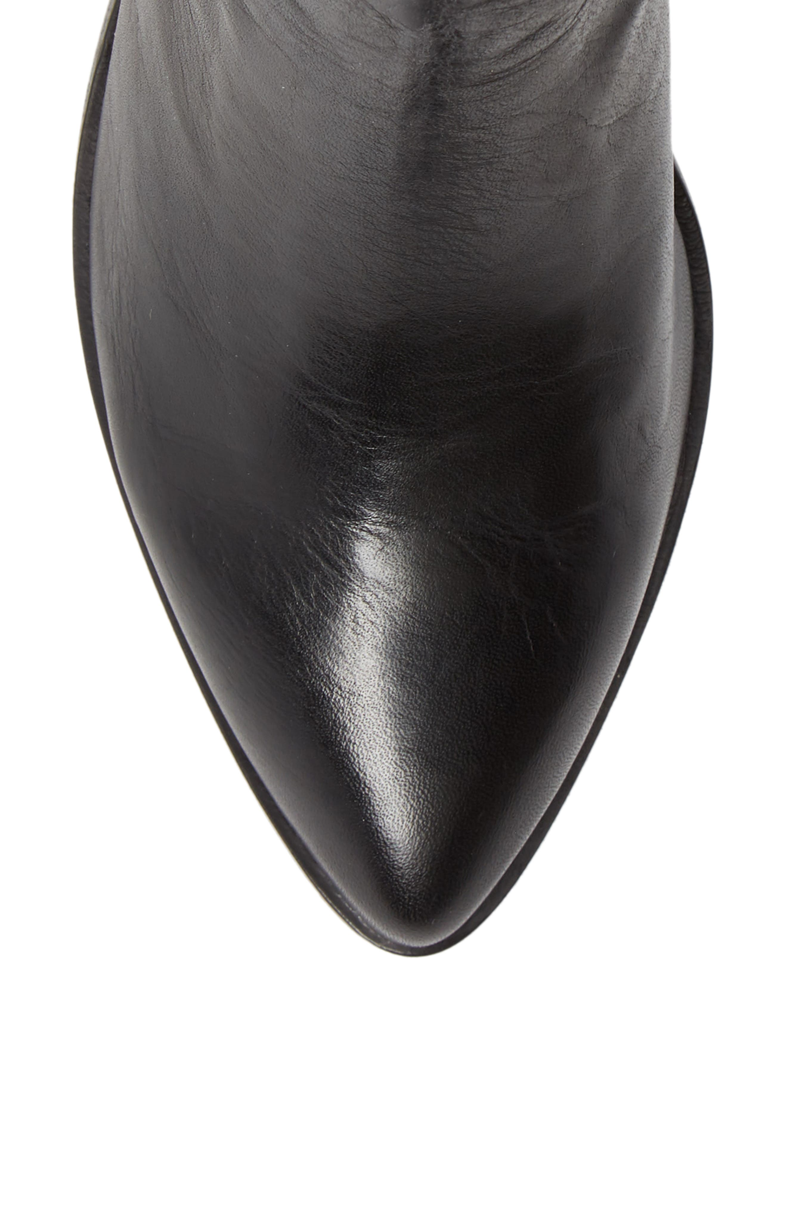 Lila Pointy Toe Bootie,                             Alternate thumbnail 5, color,                             001