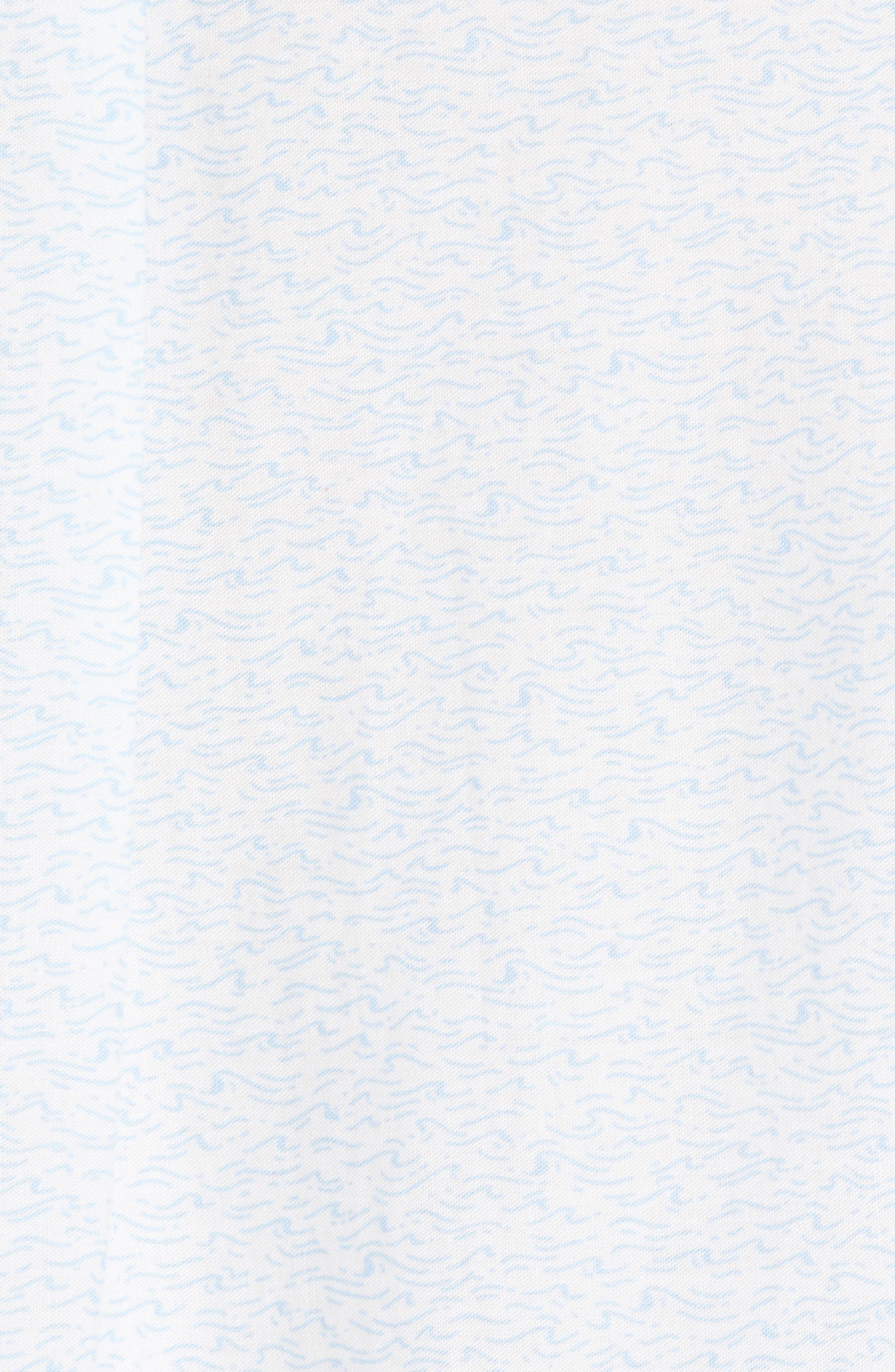 Cape Codder Slim Tucker Sport Shirt,                             Alternate thumbnail 5, color,                             100
