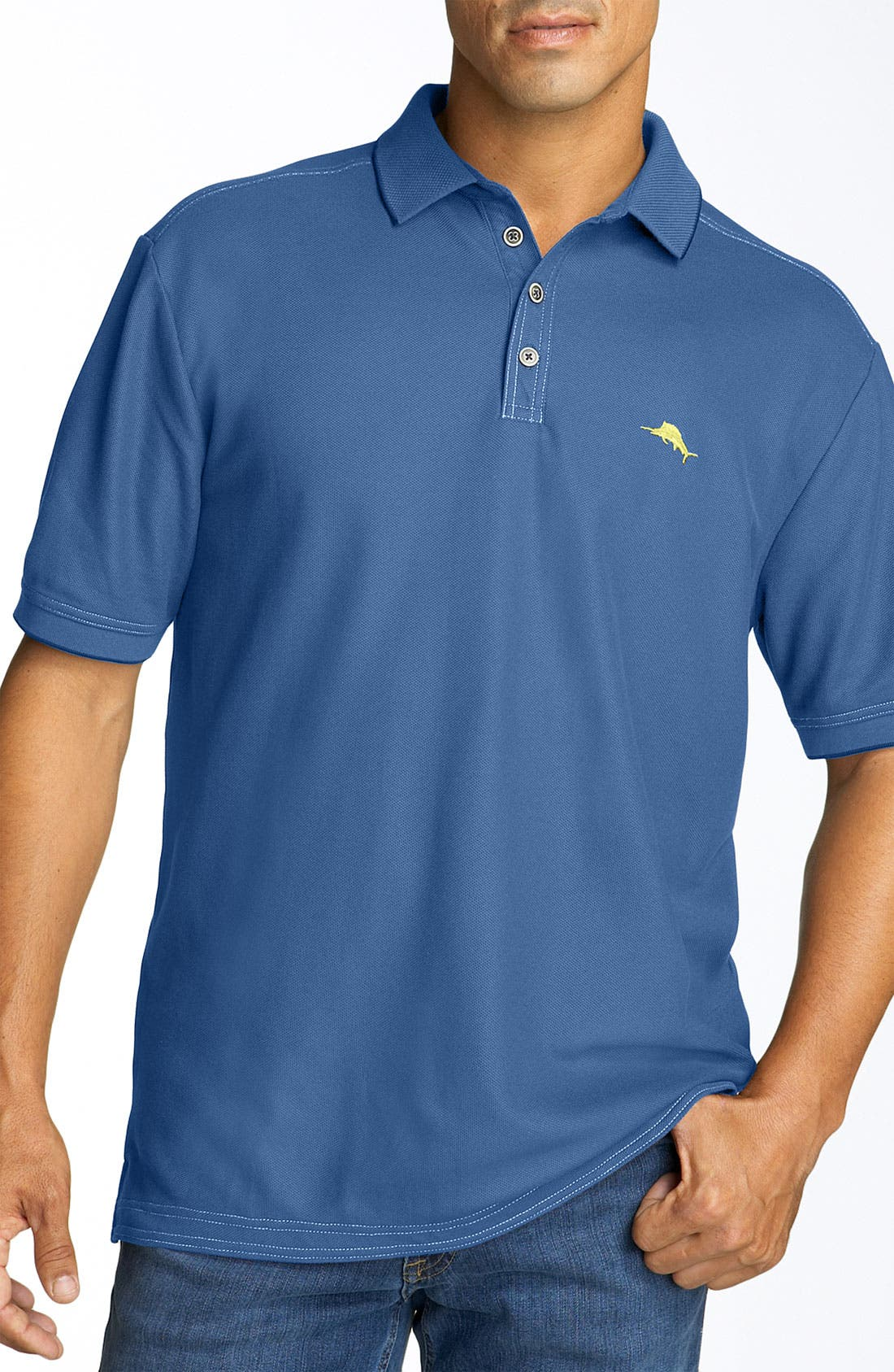 'The Emfielder' Original Fit Piqué Polo,                             Main thumbnail 50, color,