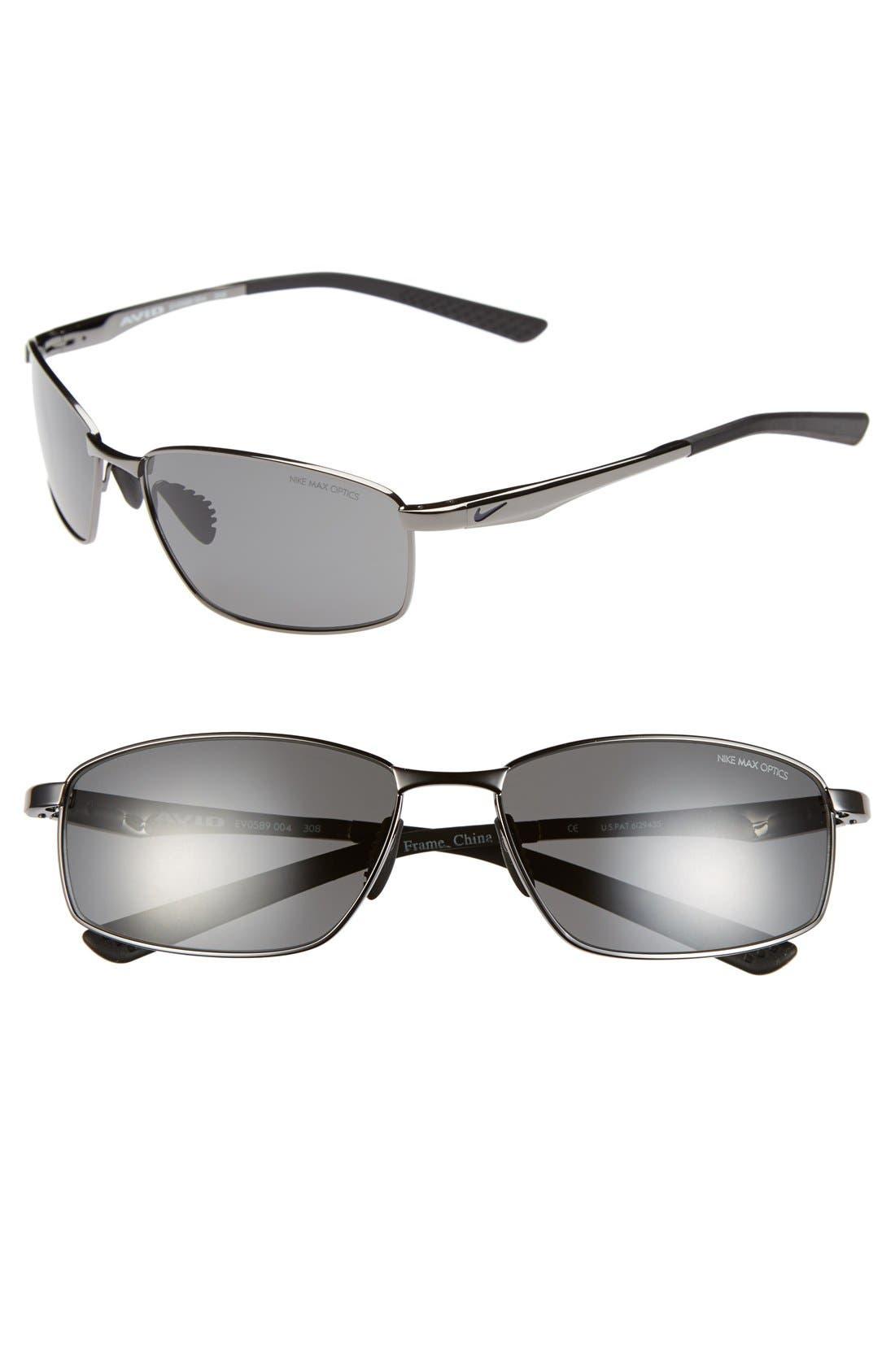 'Avid' 57mm Sunglasses,                             Main thumbnail 2, color,