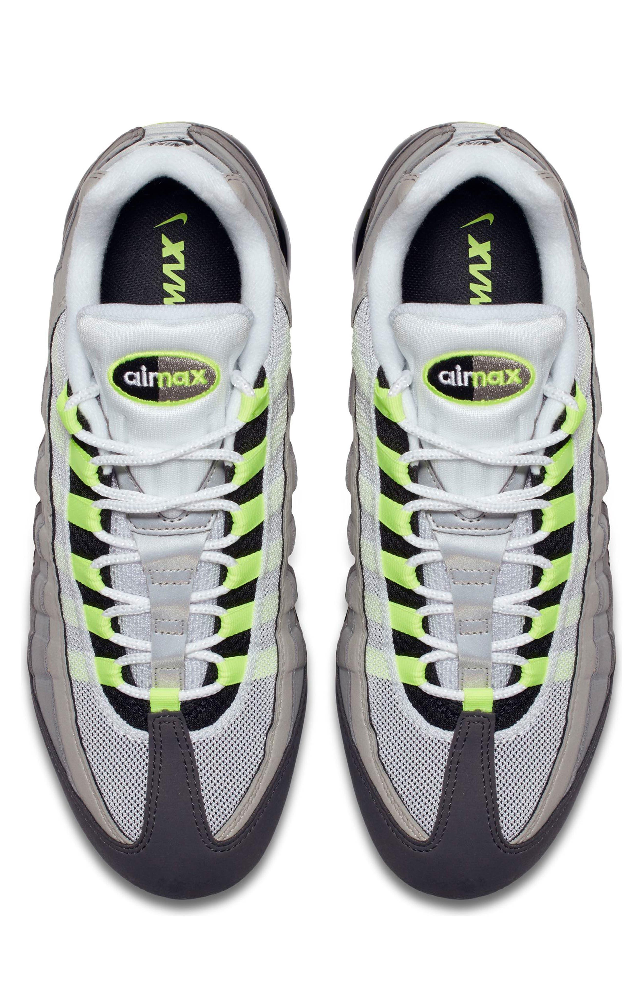 Air VaporMax '95 Sneaker,                             Alternate thumbnail 7, color,
