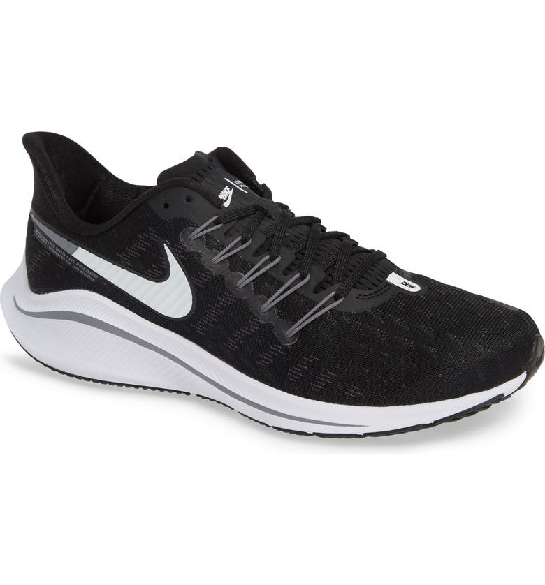 new concept eb16b a1e26 NIKE Air Zoom Vomero 14 Running Shoe, Main, color, BLACK WHITE